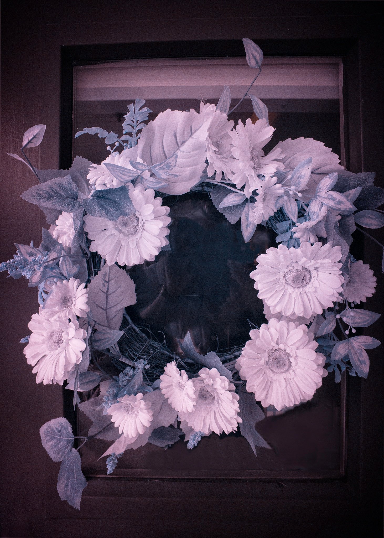 Floral Wreath by Alan Howe