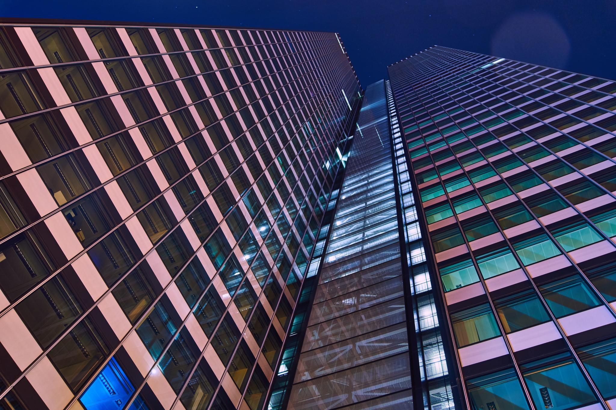 Frankfurt DZ Tower by Ahmet.Bozkurt