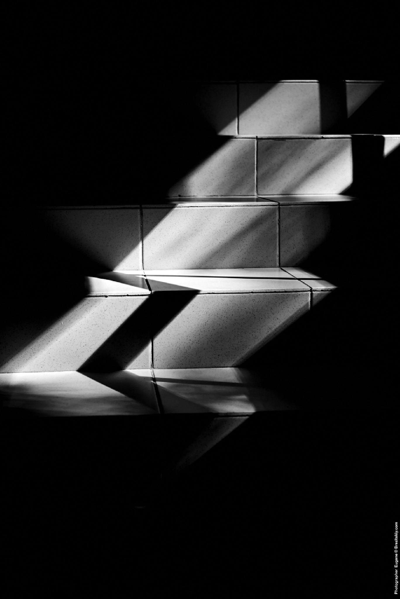 Stairs by Eugene Brez
