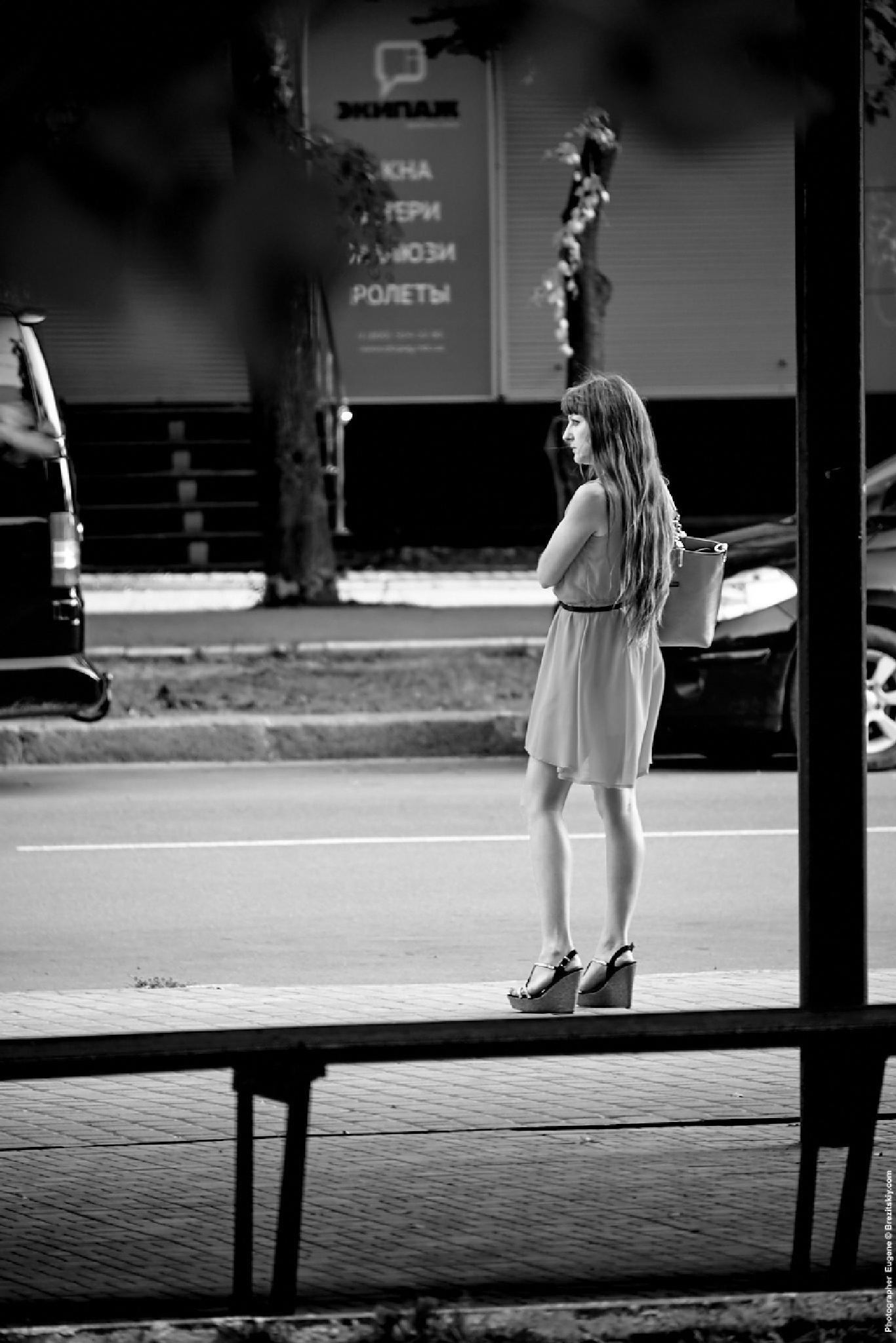 Little girl by Eugene Brez