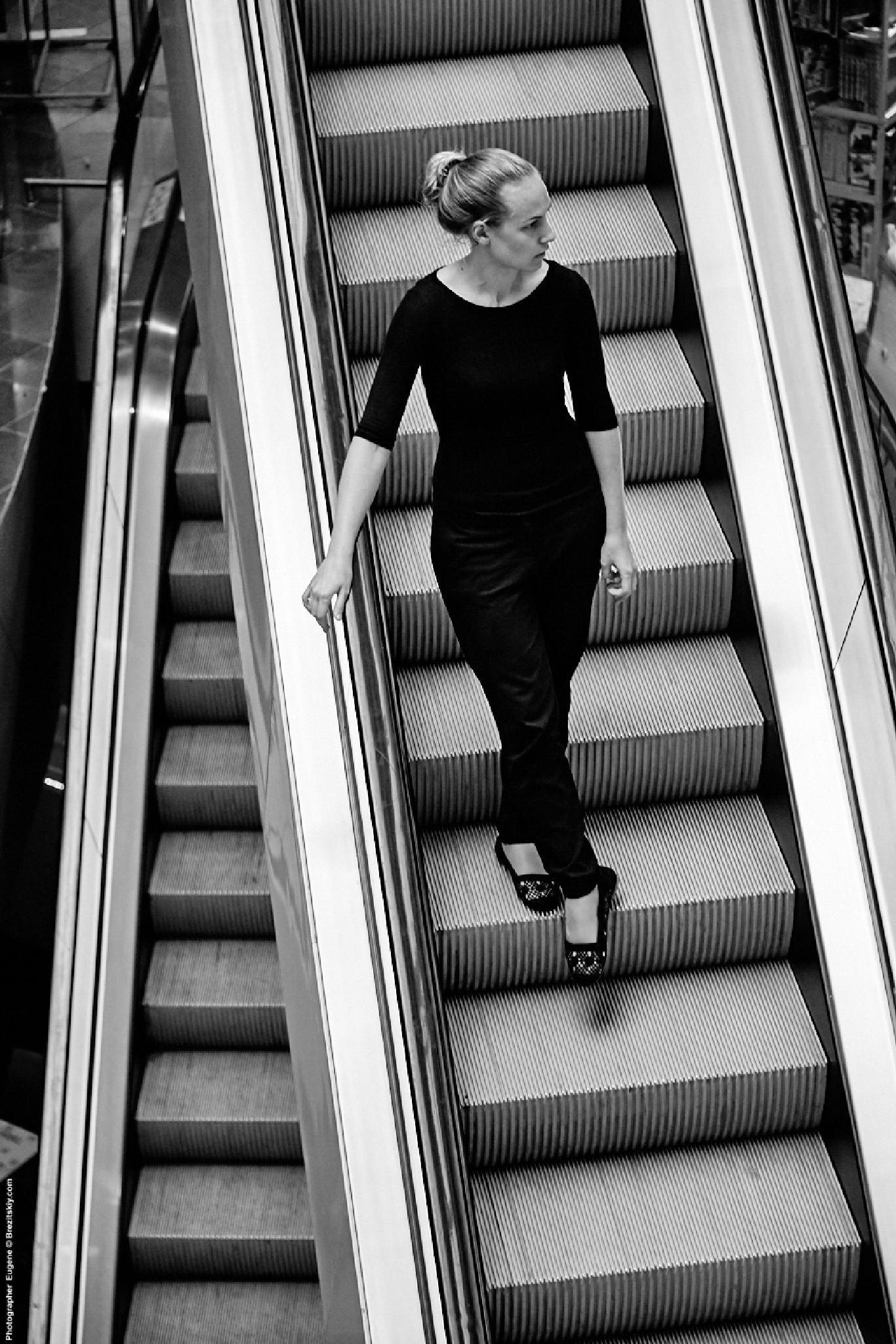 Escalator by Eugene Brez