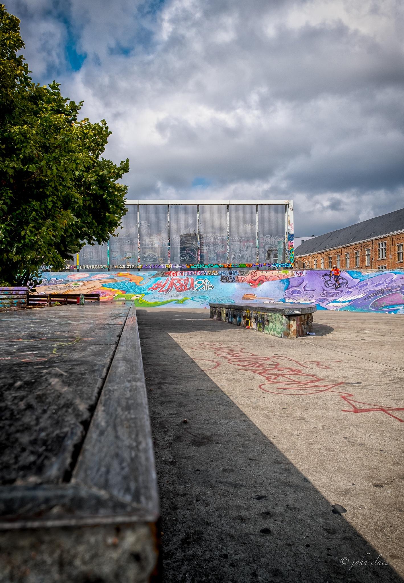 Skatepark by fotoclaesjohn