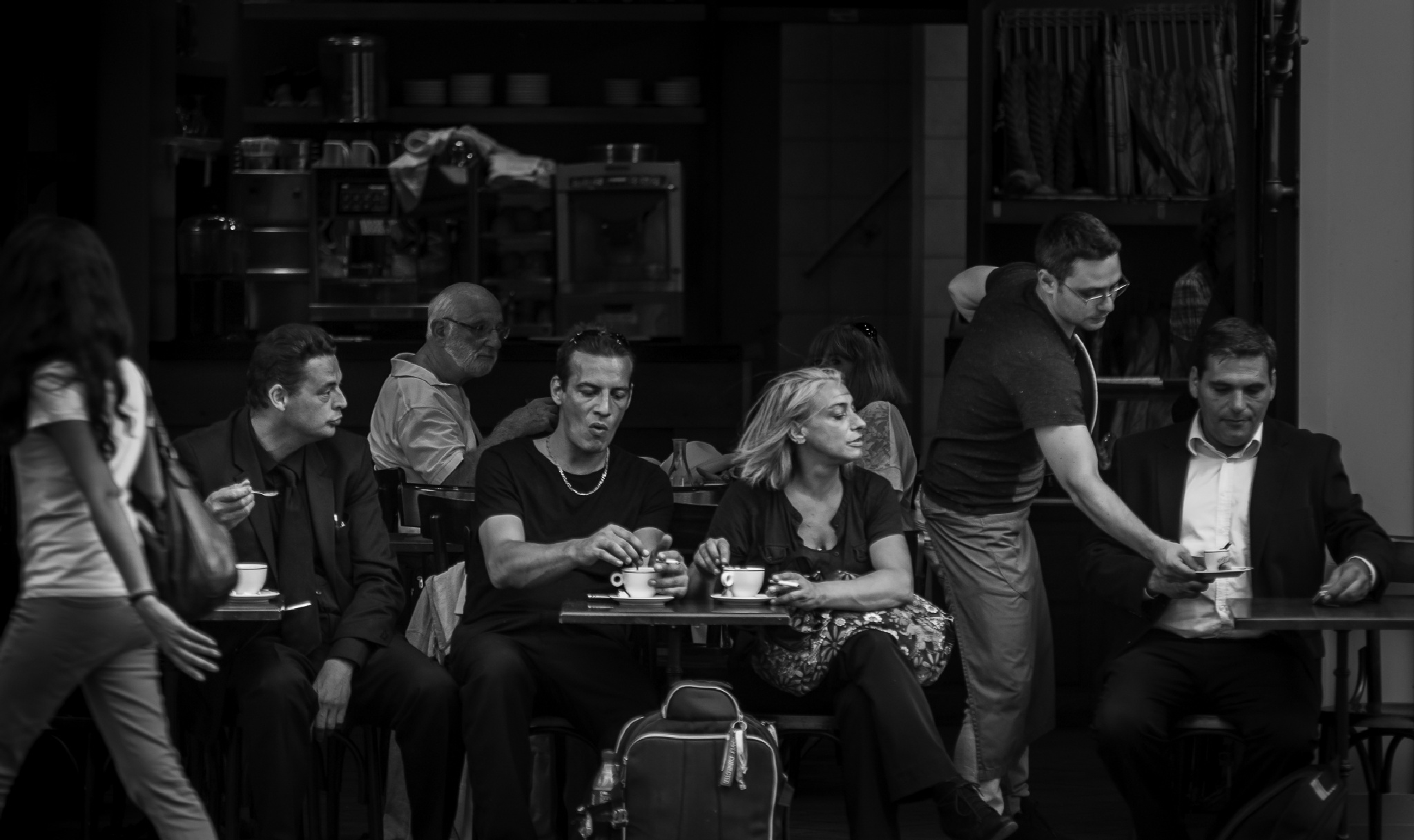 Paris coffee time by fotoclaesjohn