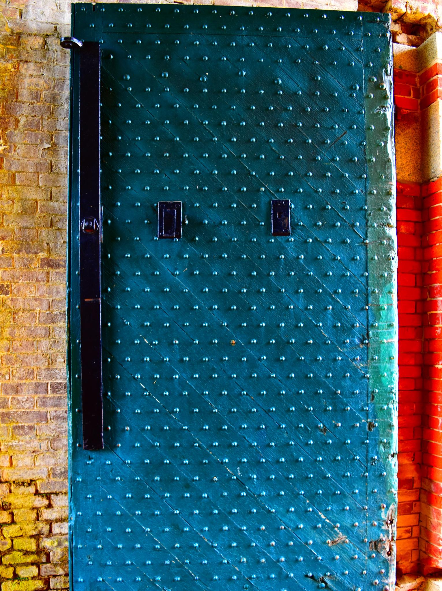 Blue Door by Jennifer Hassinger