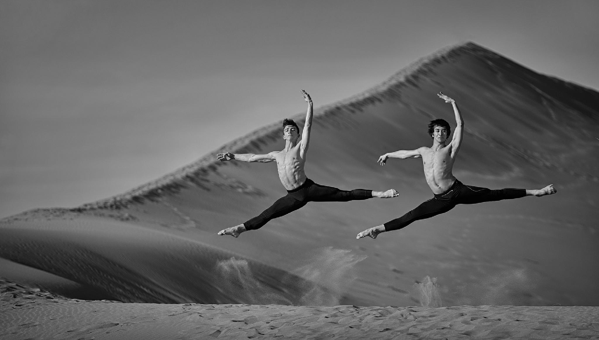 Topless Dancers by MikeReid