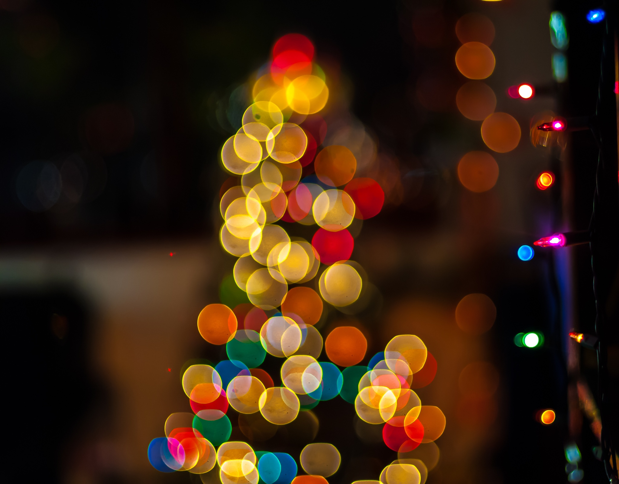Christmas Bokeh by goutamchak