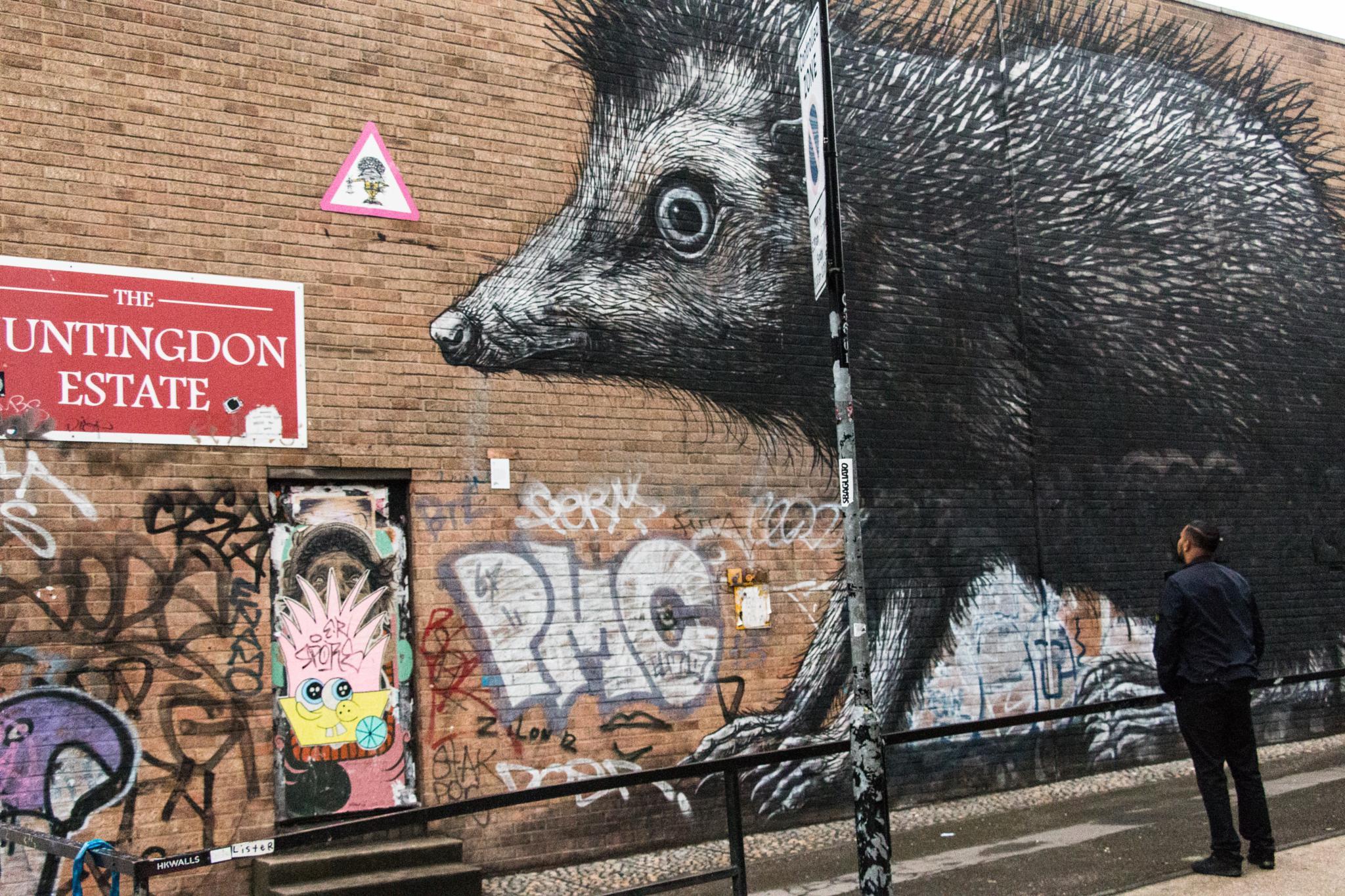 East London wallart. by Kobi Balulu