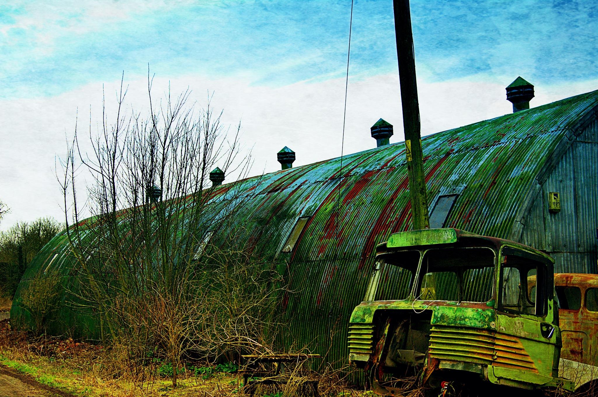 Corrugated Workshop - Upavon by Keith Patrak