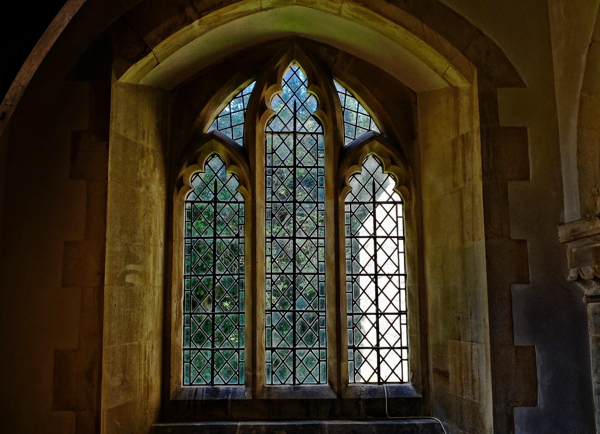 Church Window - Chirton by Keith Patrak