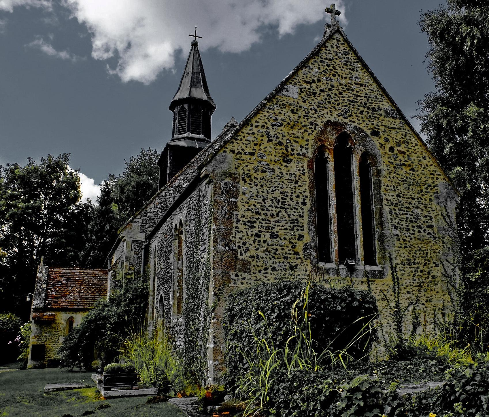 St Swithin's Church - Patney by Keith Patrak