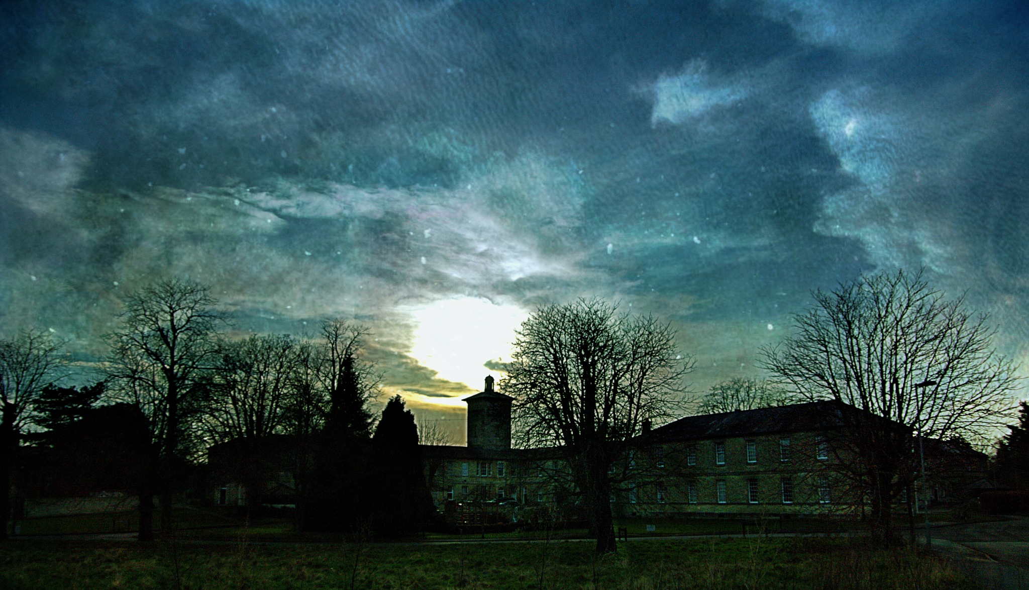 Old Roundway Hospital - Devizes by Keith Patrak