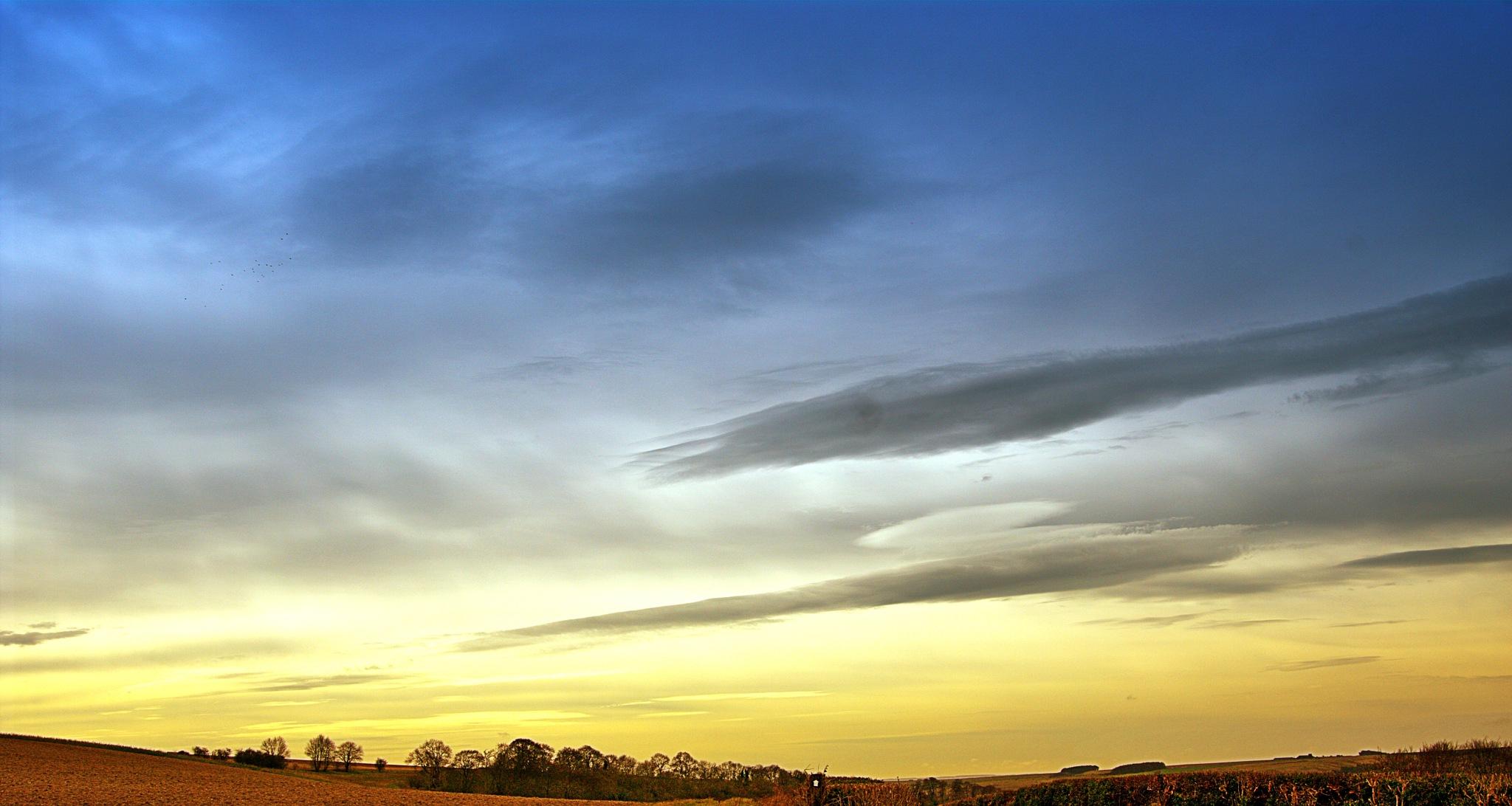 Amazing Skies - Upavon by Keith Patrak