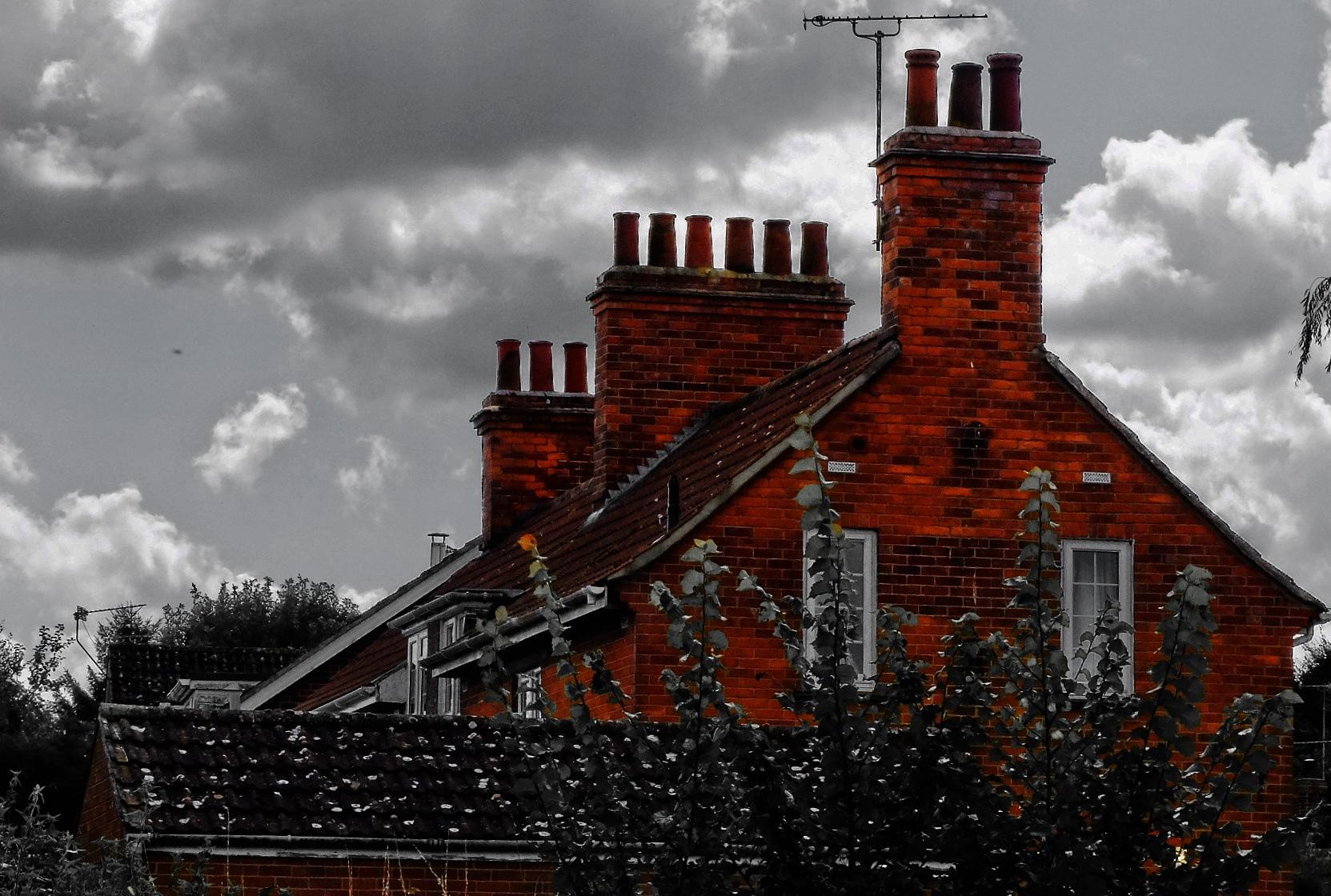 Chimney Pots - Patney Road by Keith Patrak
