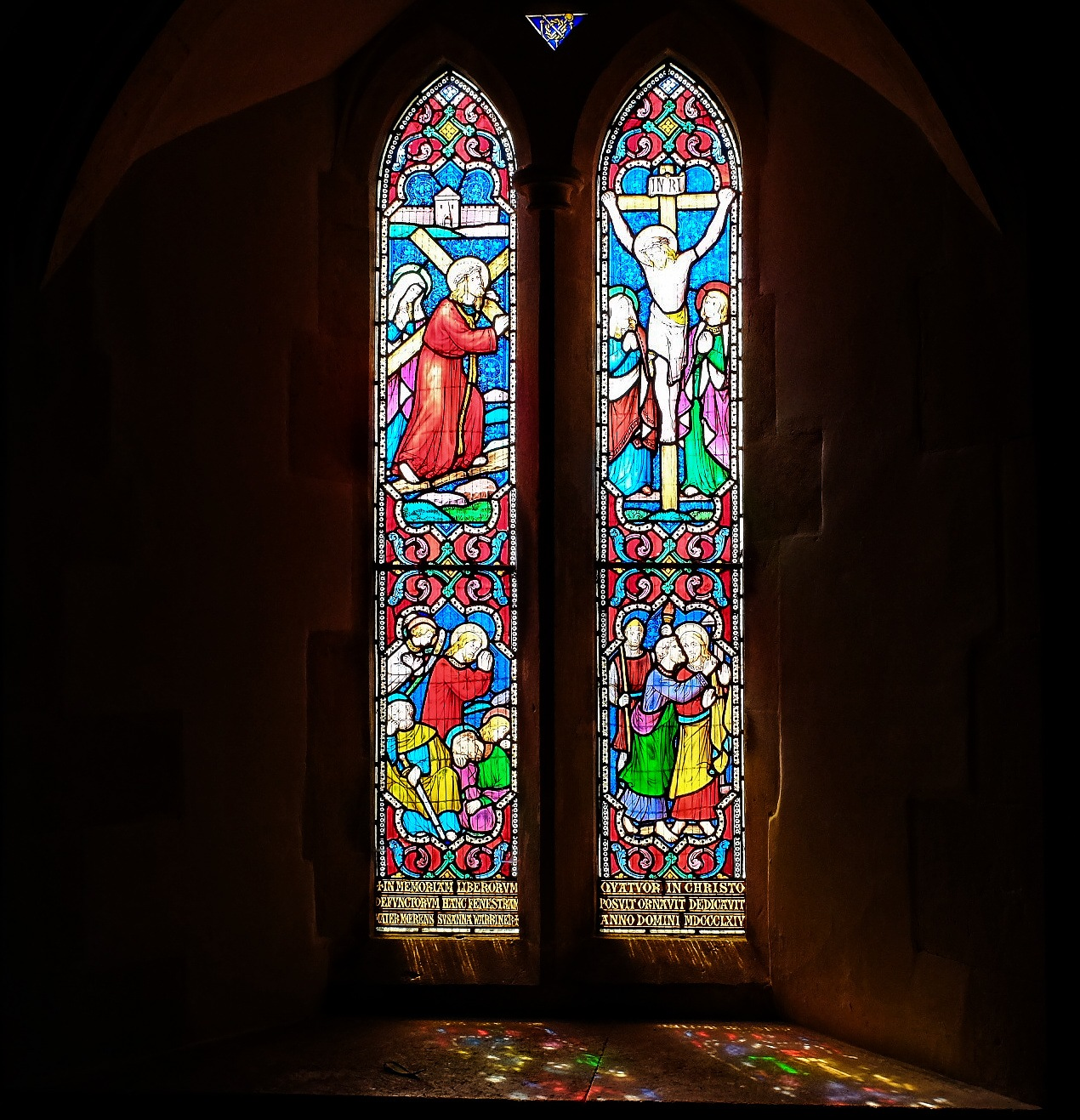 Stained Glass Reflections - Chirton by Keith Patrak