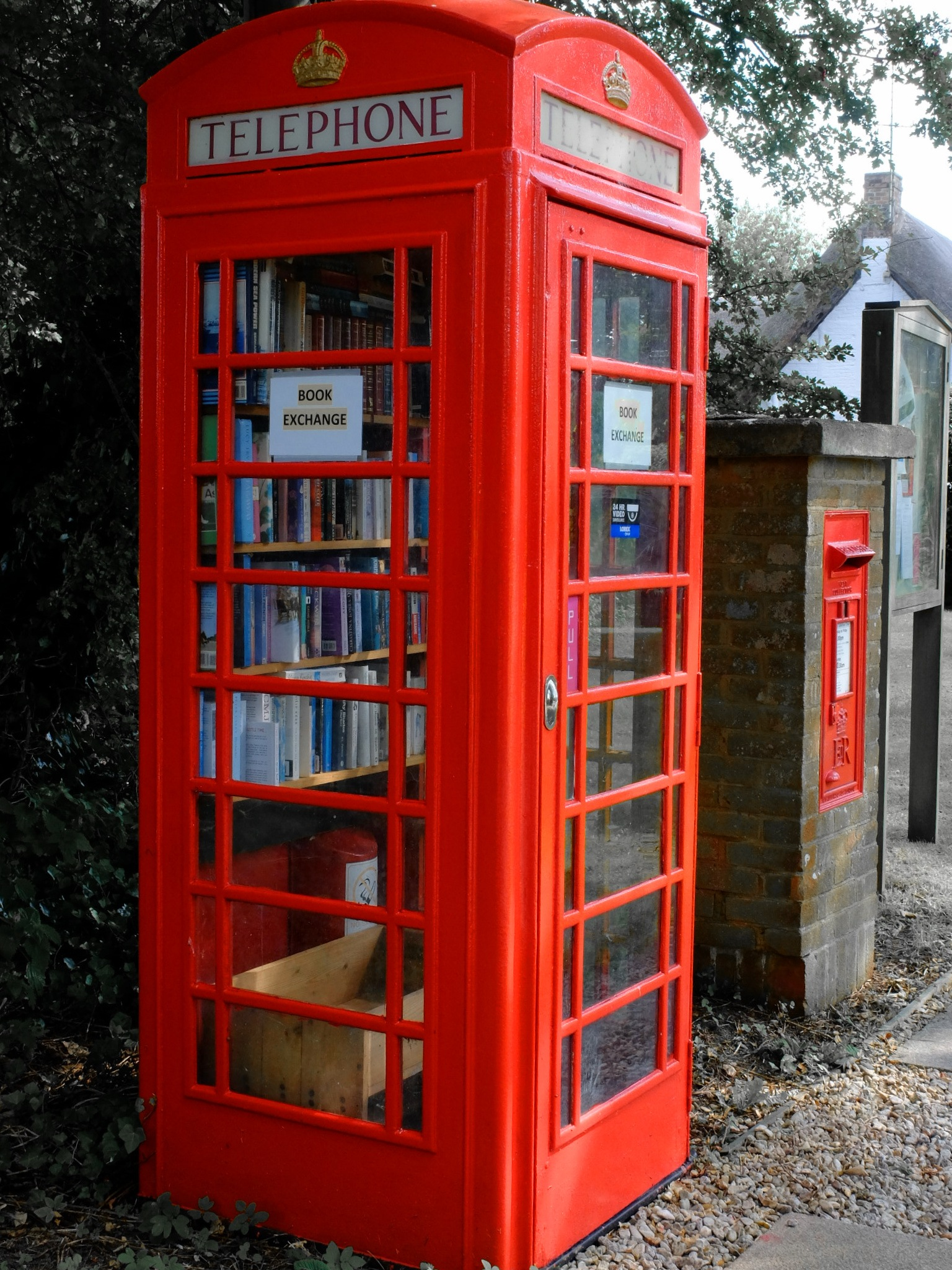 Recycled Phone Box - Chirton by Keith Patrak