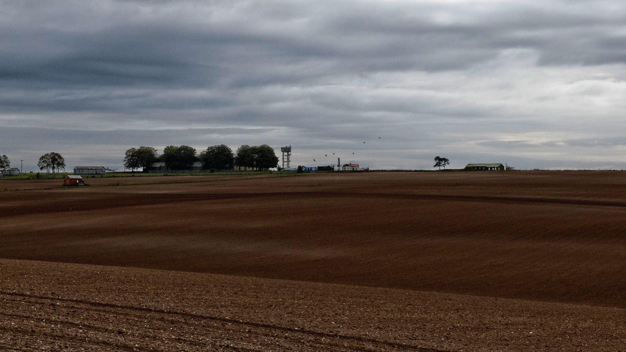 Velvet Fields - Everleigh Airfield by Keith Patrak