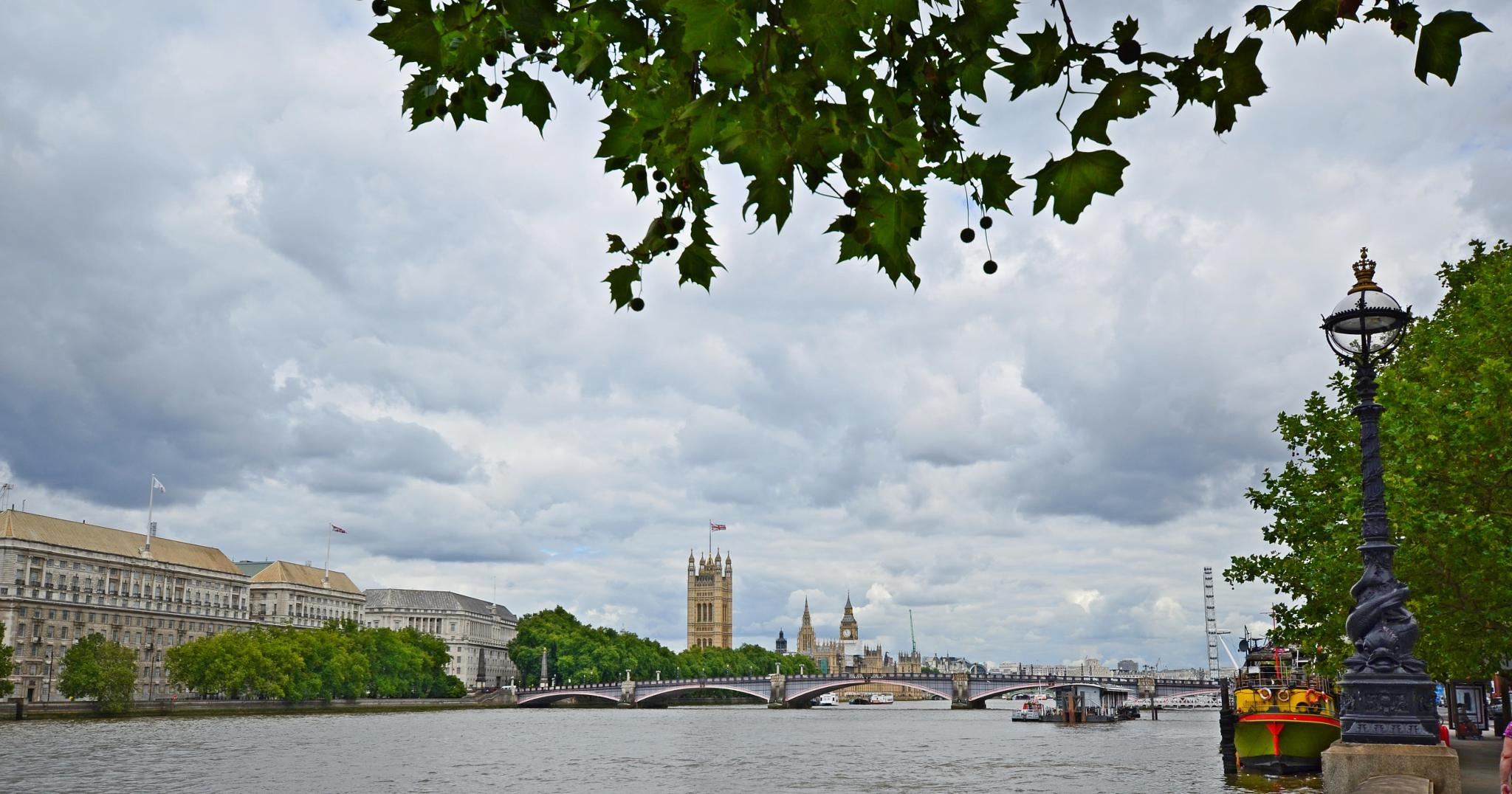 View over the Thames by Keith Patrak