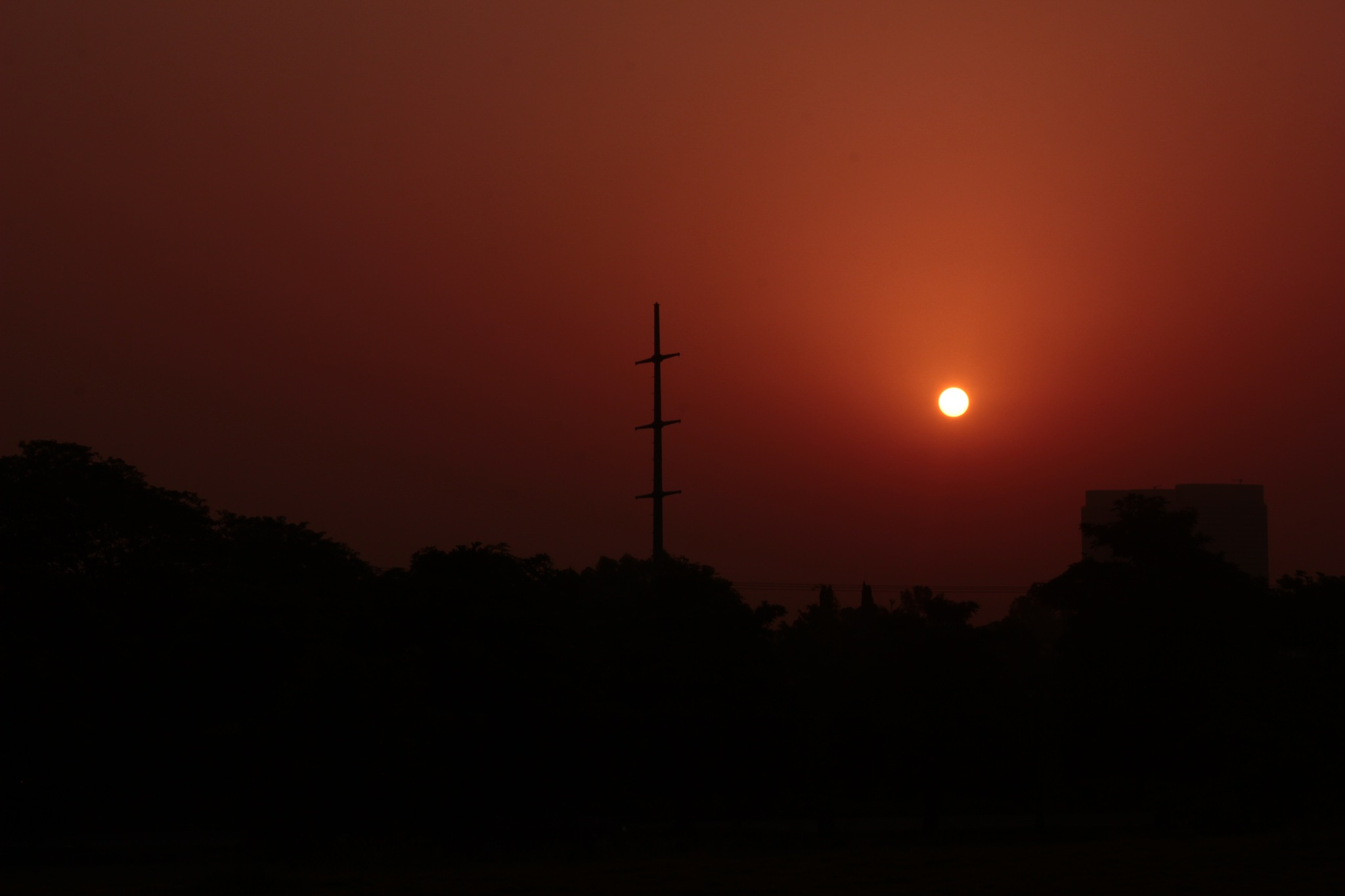 The sun rise  by Mehtab Hussain