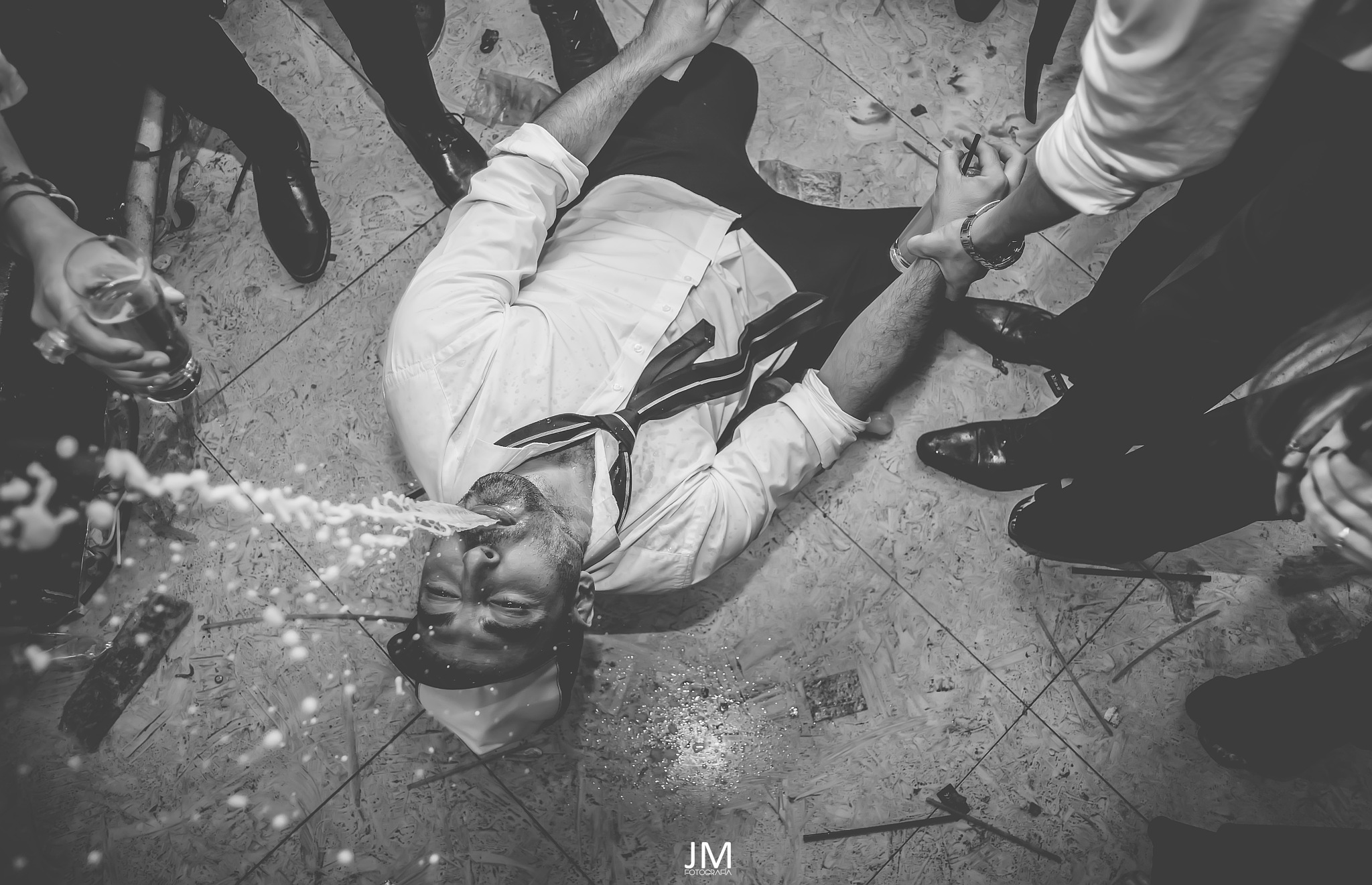 not more champagne by Jorge Moreira