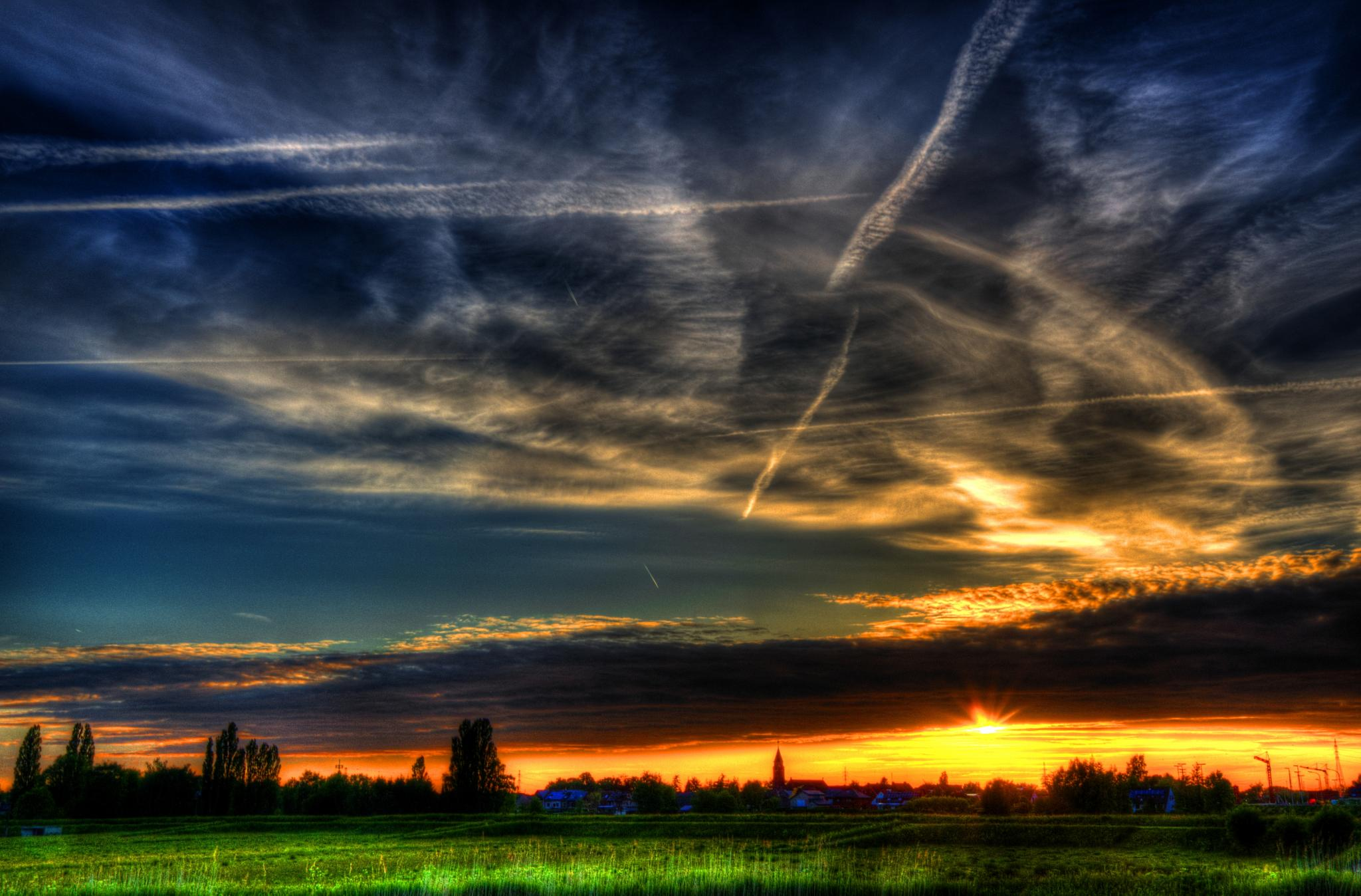 Sunset I. by Dirk Gonthier