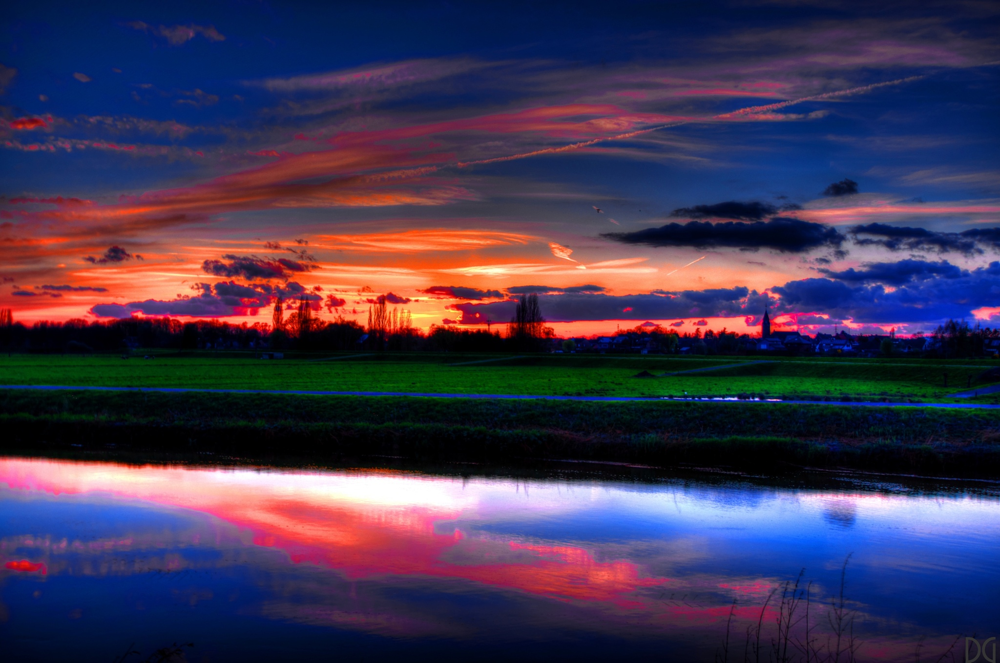 Sunset II. by Dirk Gonthier