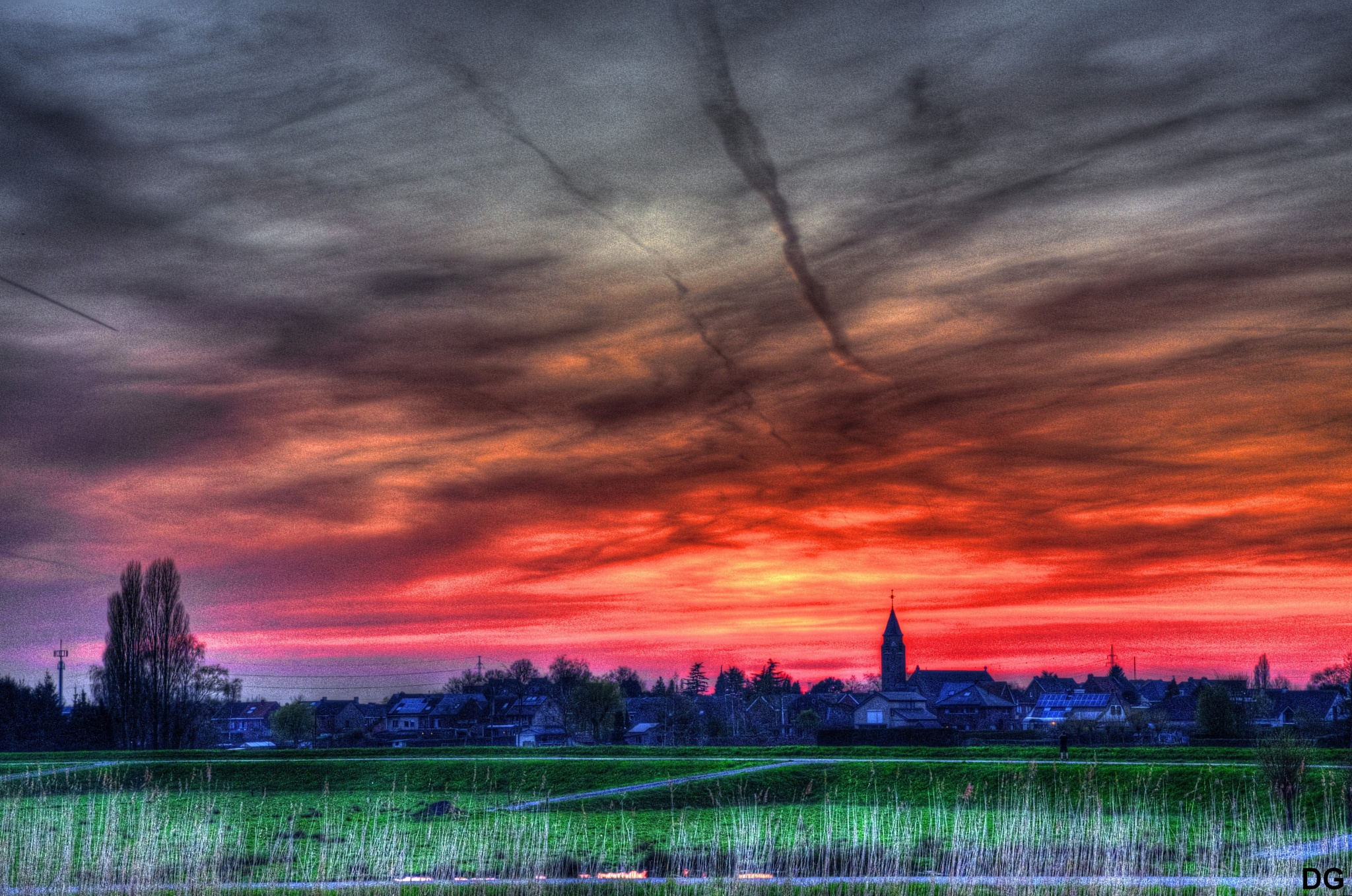 Sunset IV. by Dirk Gonthier