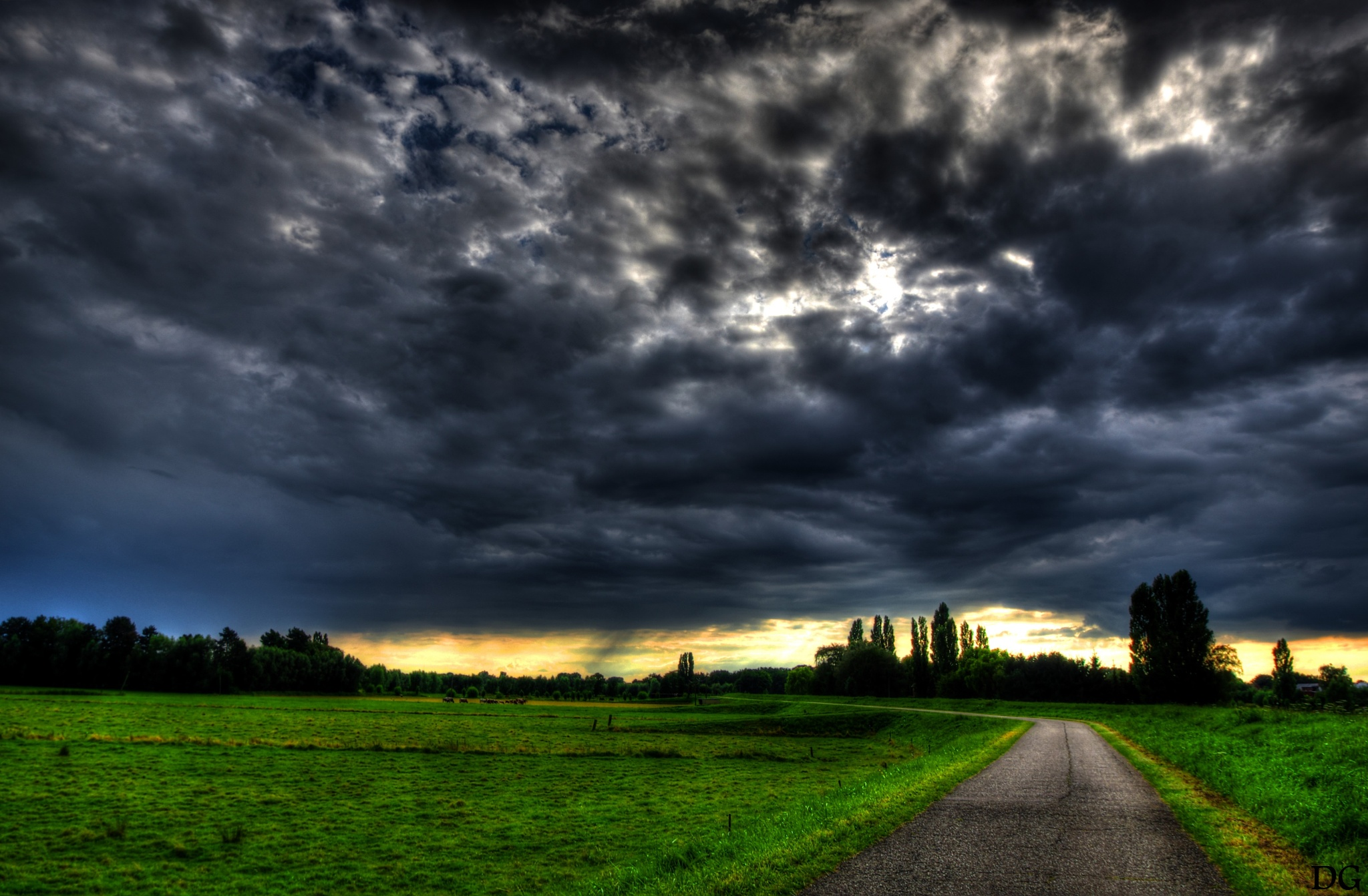 Clouds. by Dirk Gonthier