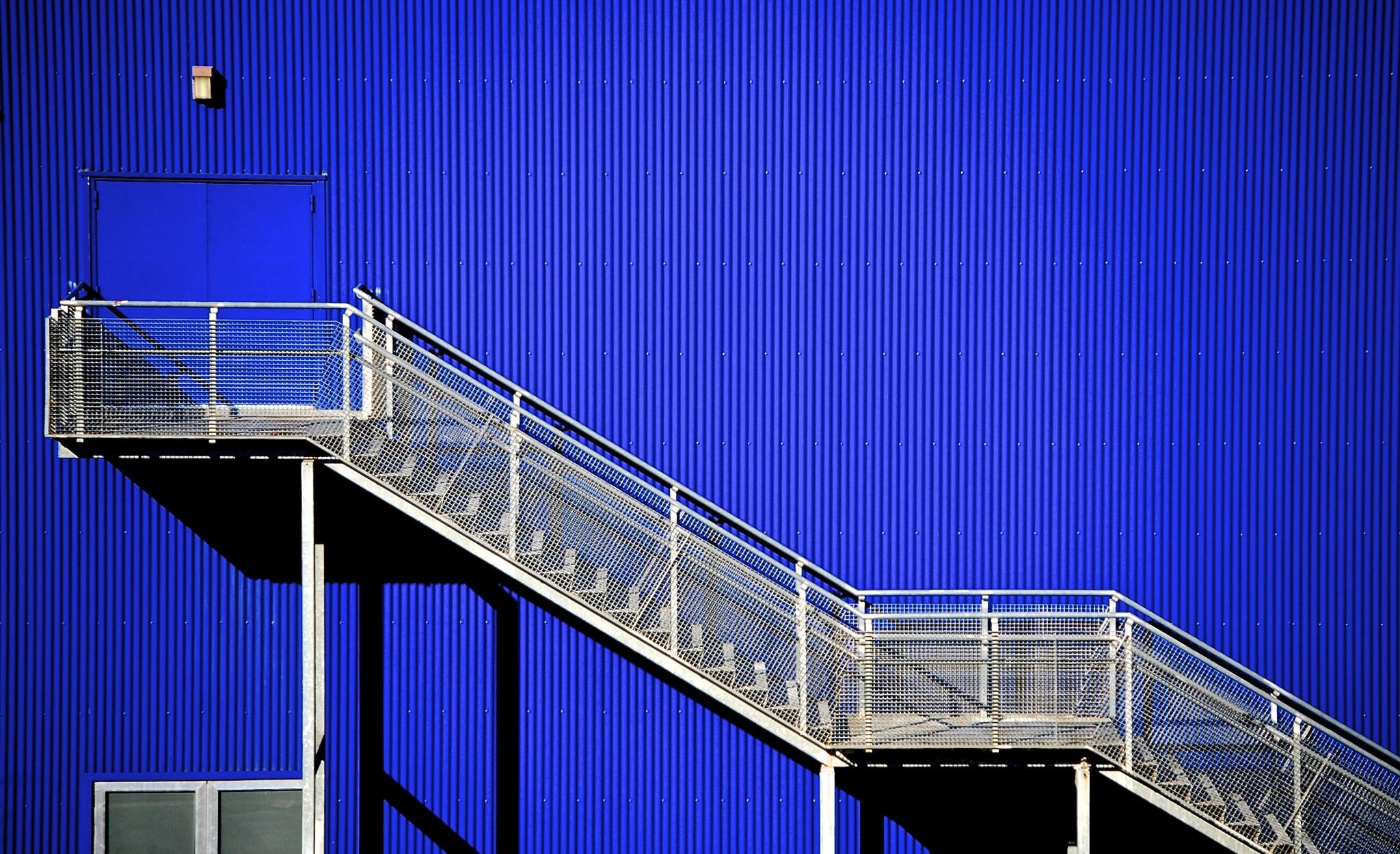 Stairs & blue by DanyParodi