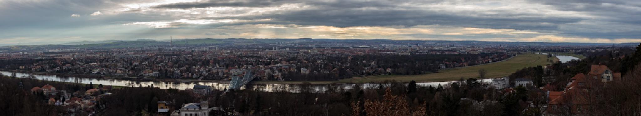 Panorama of Dresen by Sergej Juganov