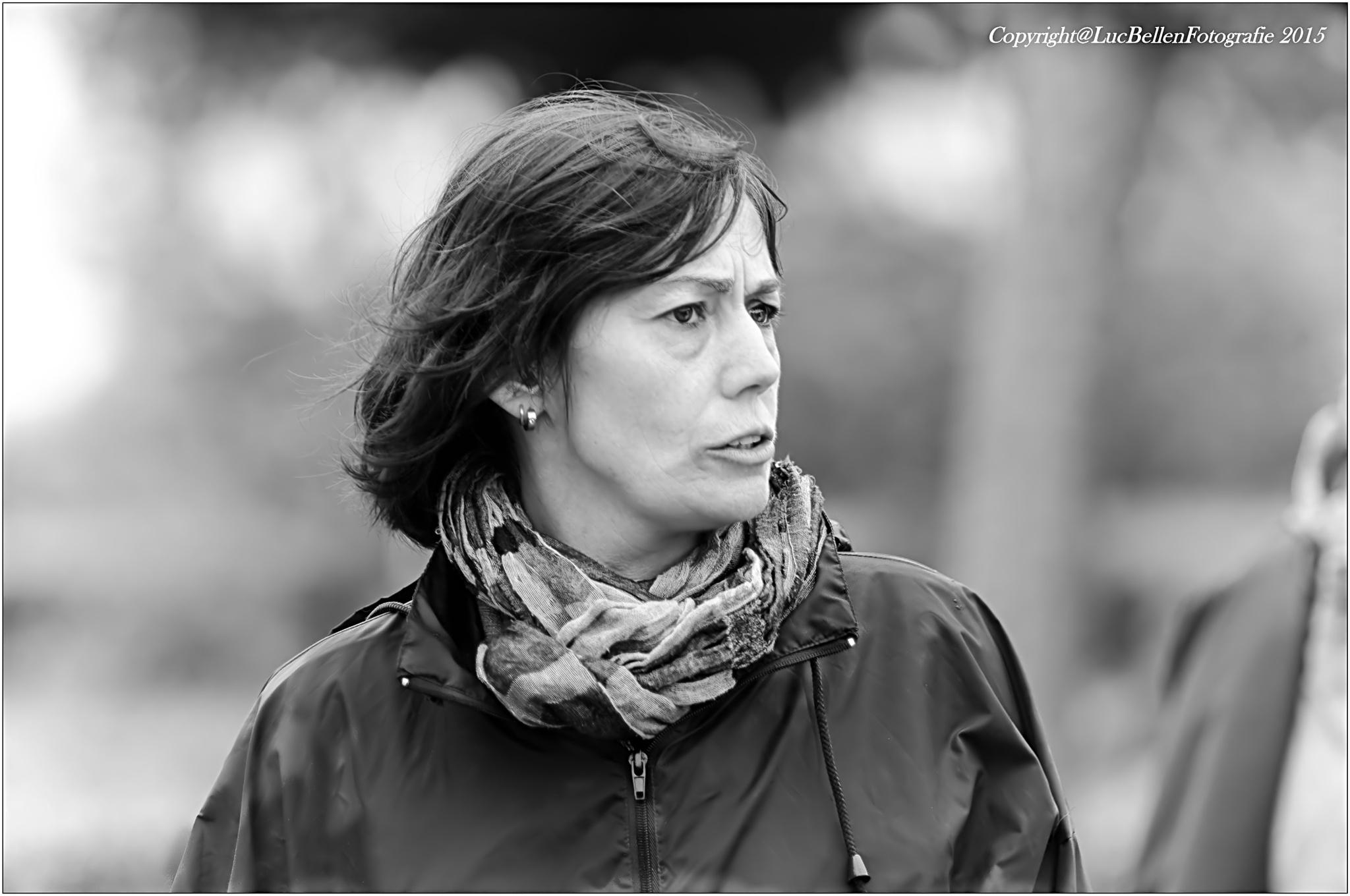 ~~ My cousin Inge ~~ by Luc Bellen