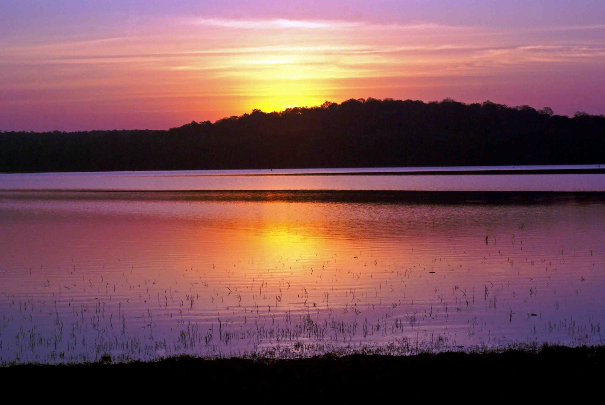 sunset - Kabini by guran60