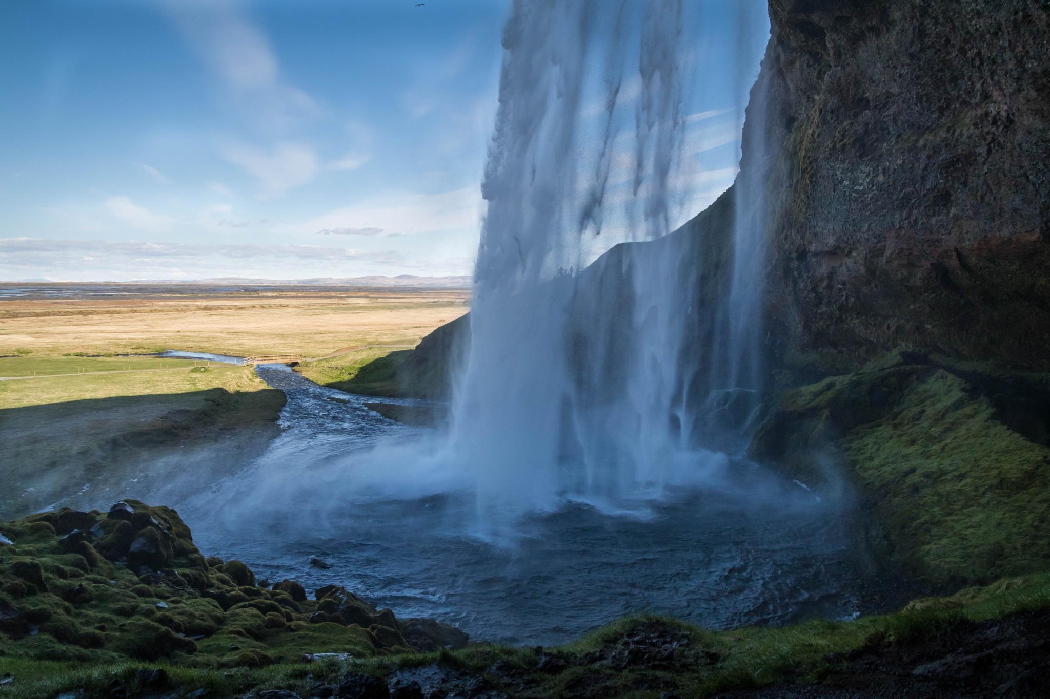 Seljalandsfoss Iceland by tommybeyer79