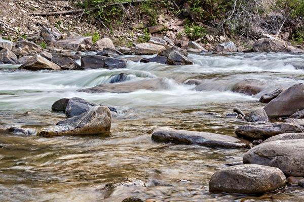Running Creek by Brian Reimiller