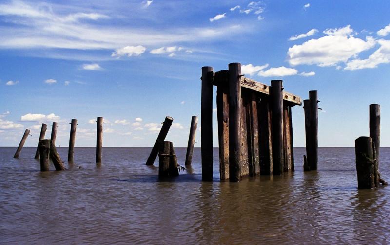 Derelict Pier by Dan Dabson