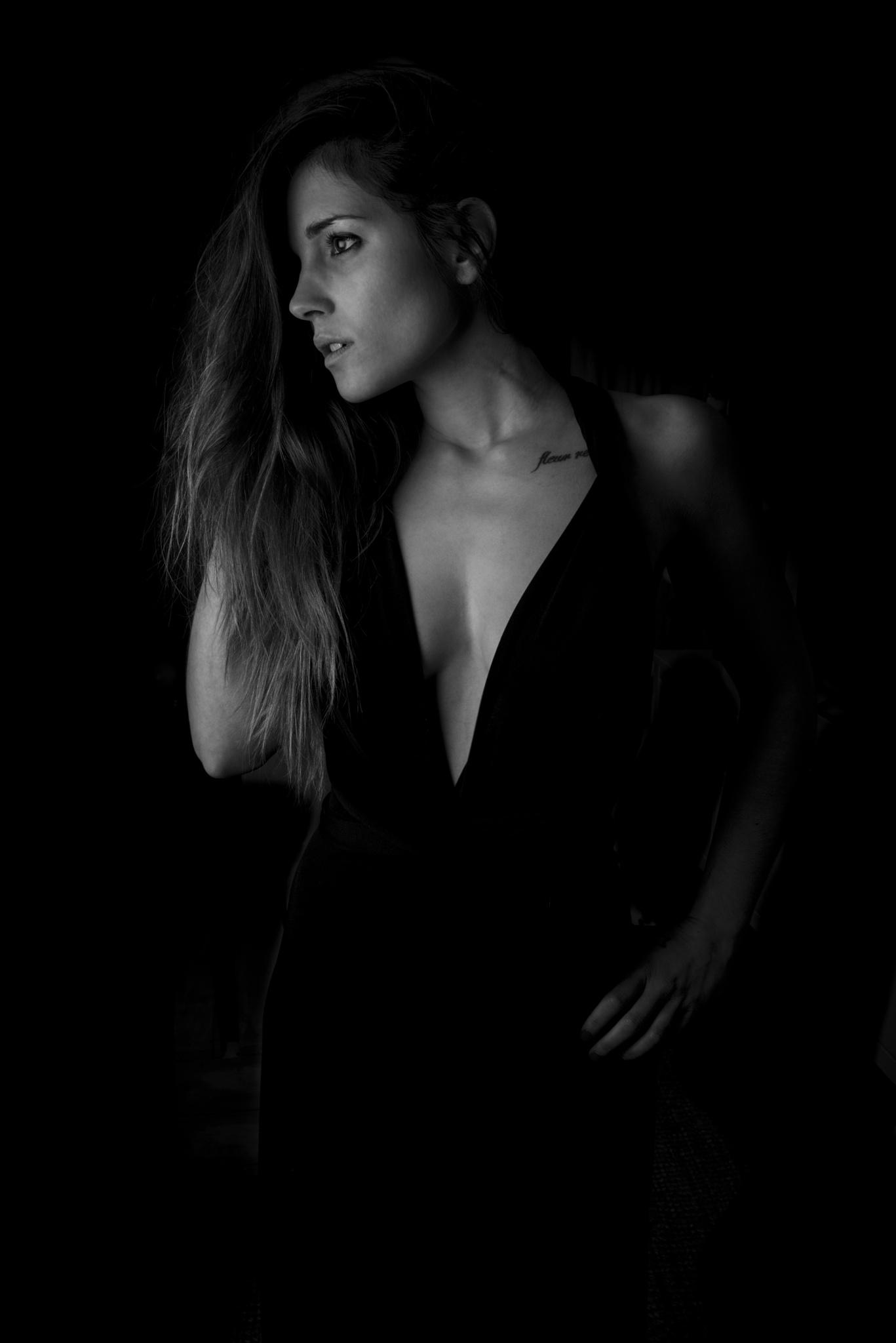 Photo in Portrait #b/w #beauty #model #softbox #portrait