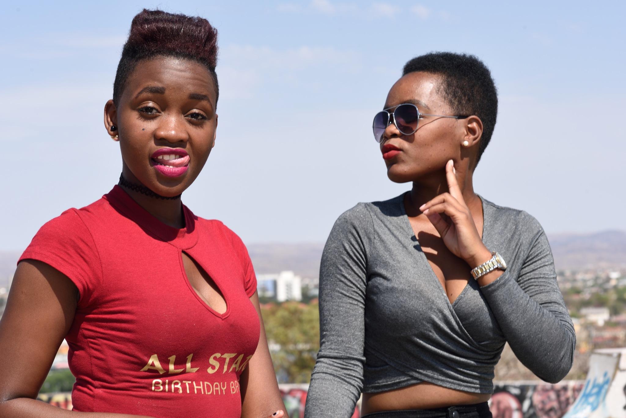 Namibian girls by Alplata