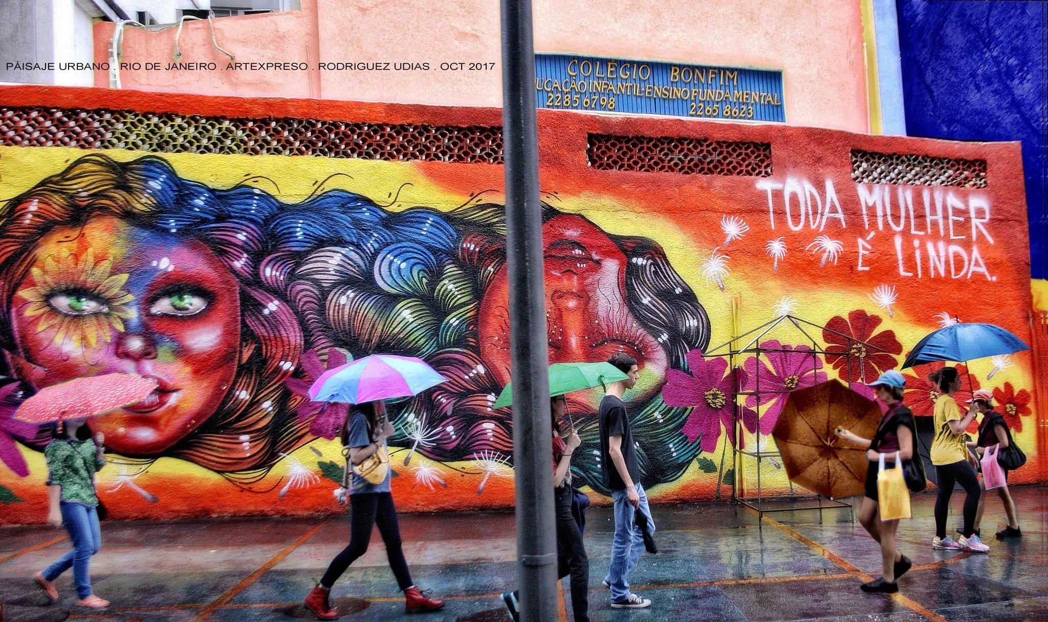 PAISAJE URBANO . RIO DE JANEIRO / ARTEXPRESO 2017 by  Artexpreso