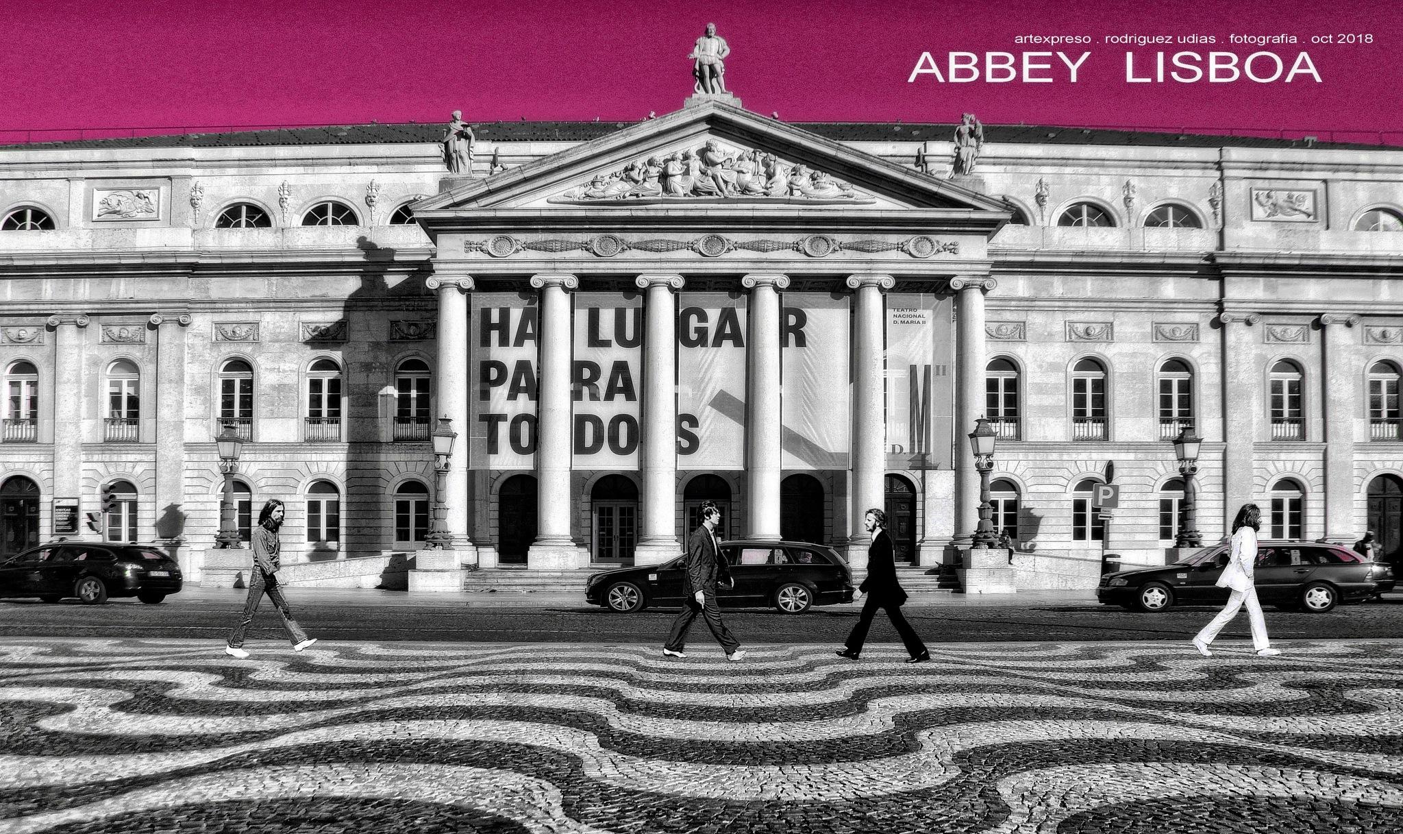 ABBEY LISBOA . COLLAGE / ARTEXPRESO 2018 by  Artexpreso