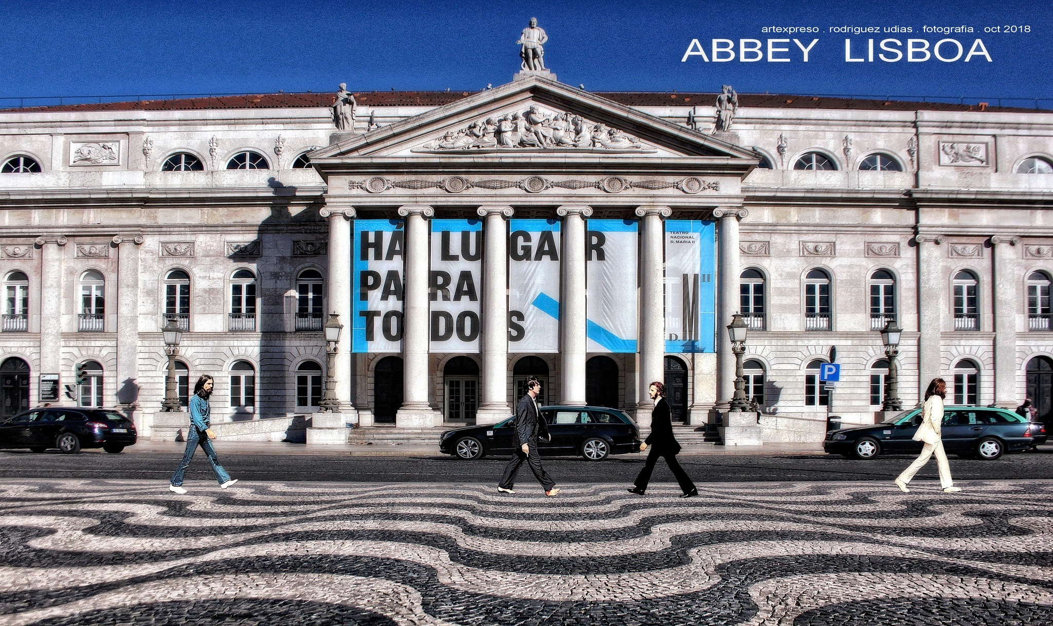 ABBEY LISBOA . COLLAGE / ARTEXPRESO 2018 by  Artexpreso