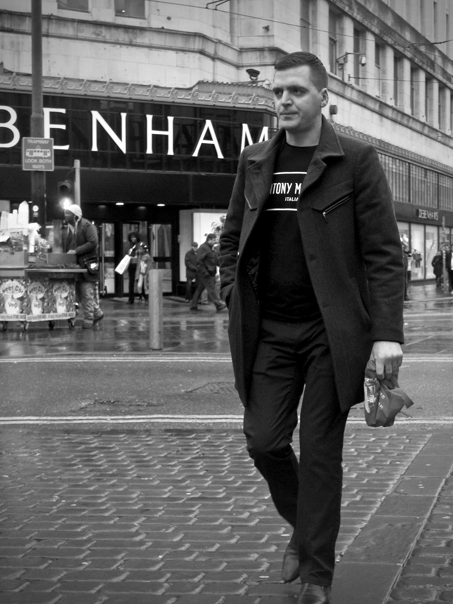 Market Street, Manchester City Centre, Manchester, UK. by StreetCrusader