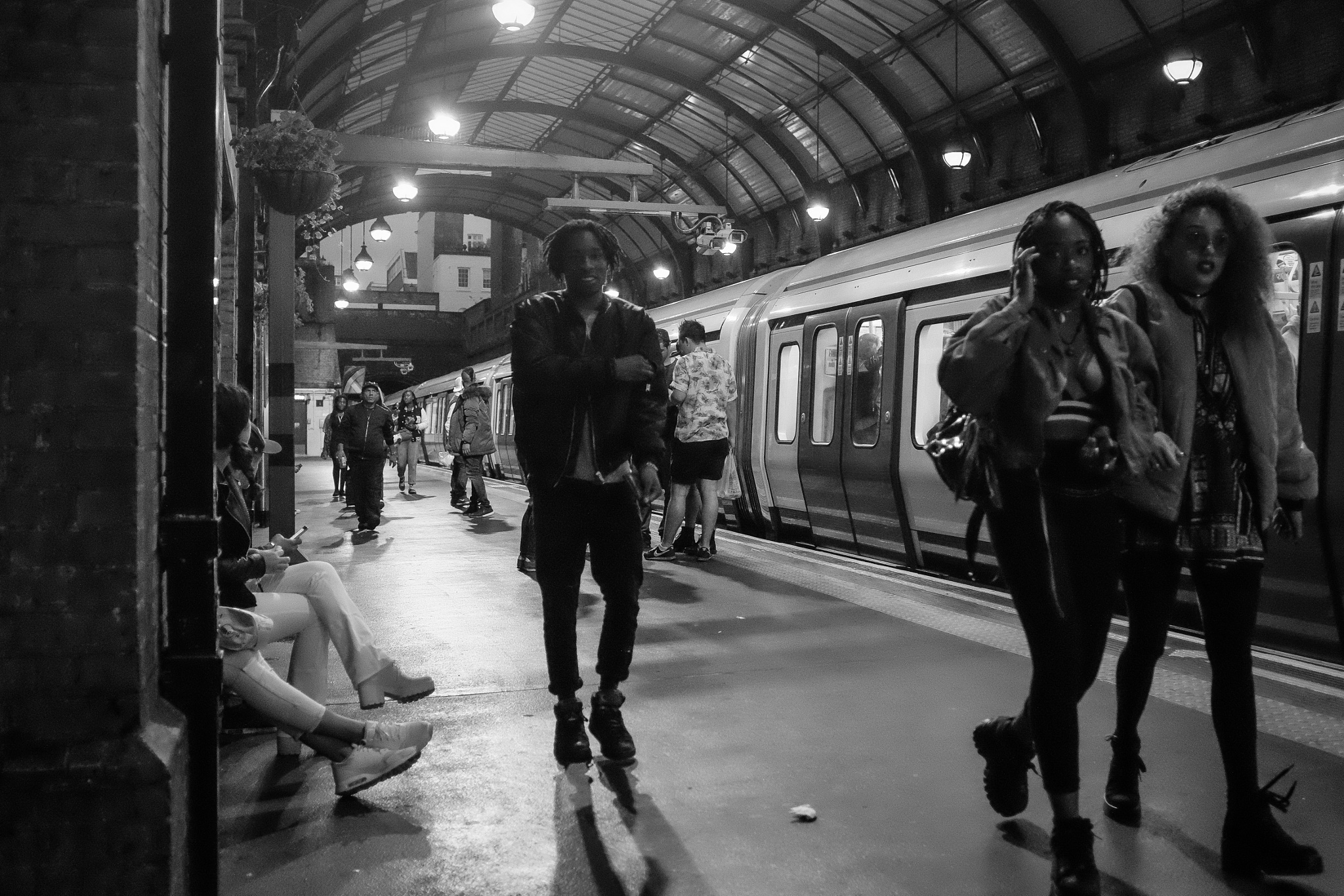 Notting Hill Gate Tube Station, Notting Hill Gate, West London, England, UK. by StreetCrusader