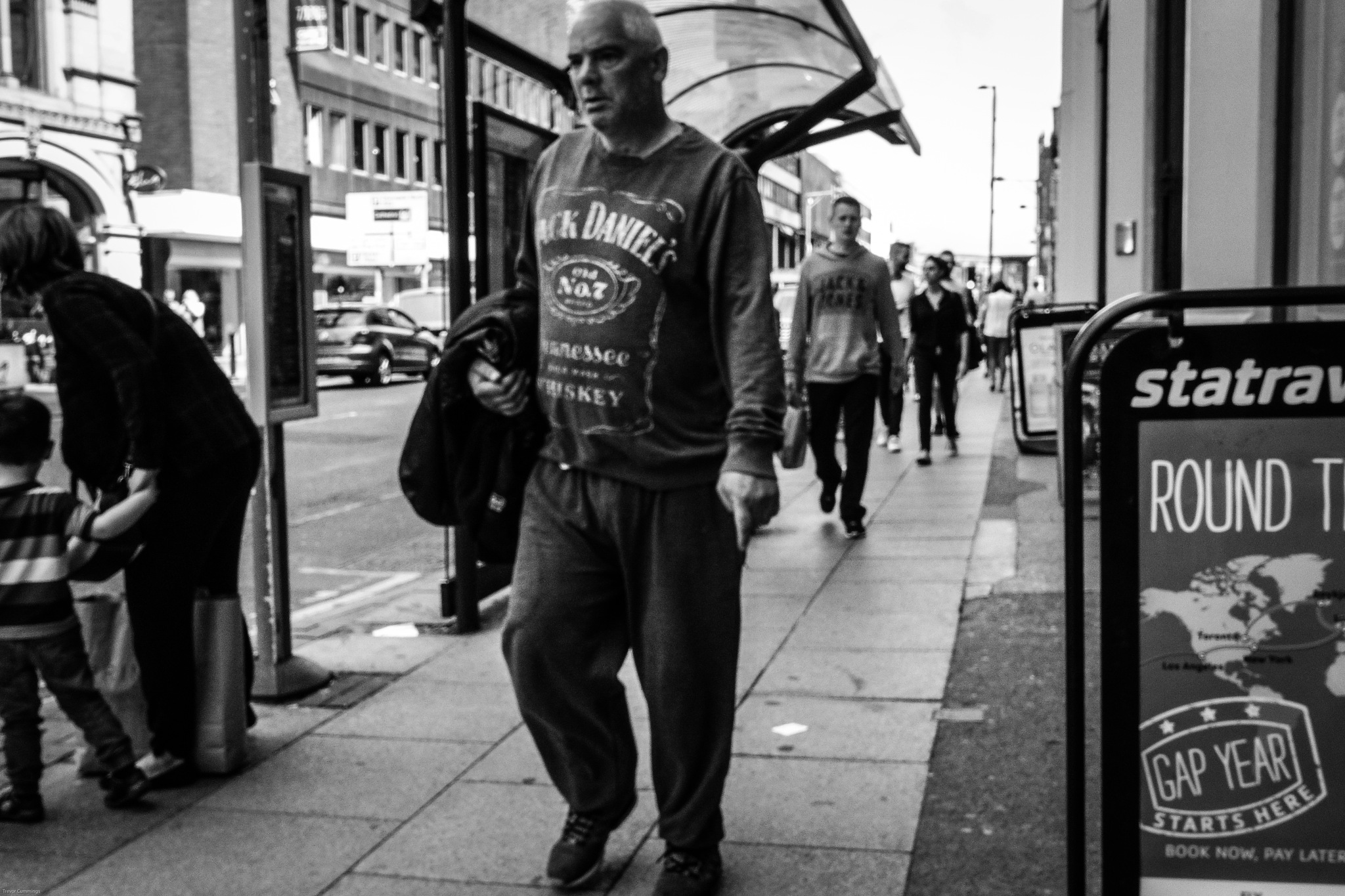 Deansgate, Manchester City Centre, Manchester, UK. by StreetCrusader