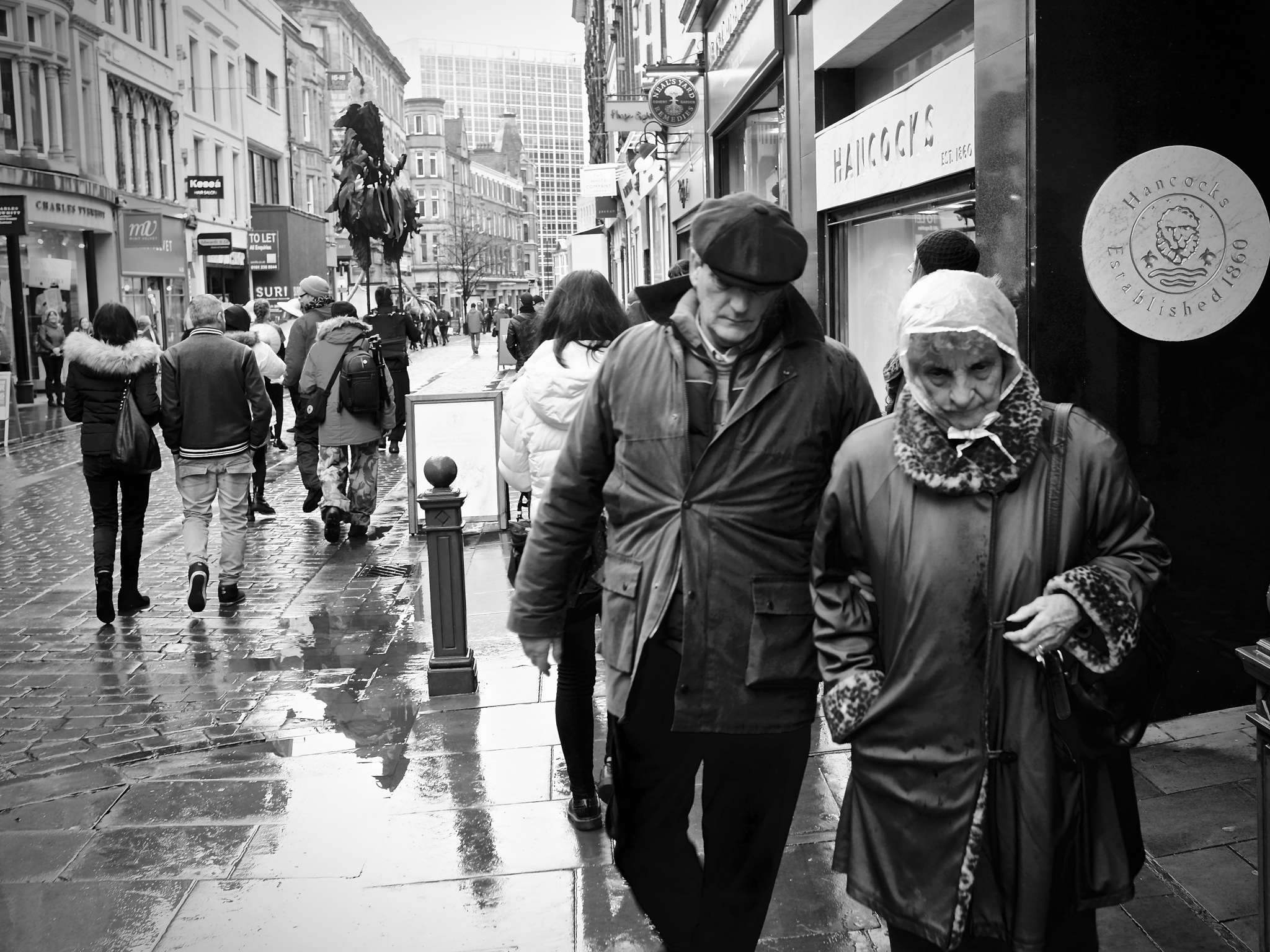 King Street, Manchester City Centre, Manchester, UK. by StreetCrusader