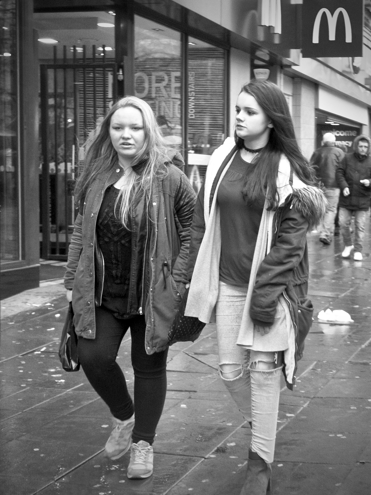 Piccadilly, Manchester City Centre, Manchester, UK. by StreetCrusader