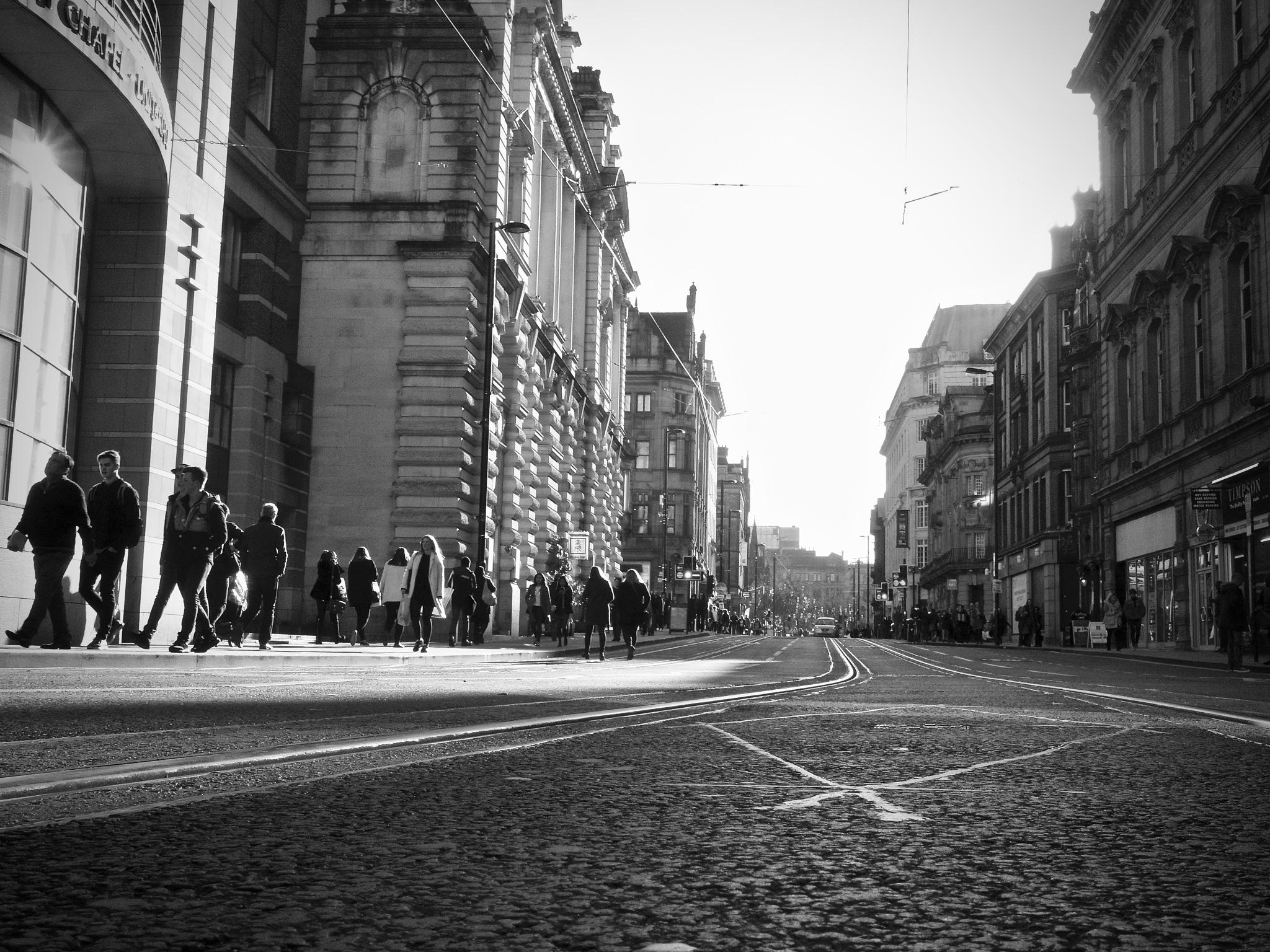 Cross Street, Manchester City Centre, Manchester, UK. by StreetCrusader