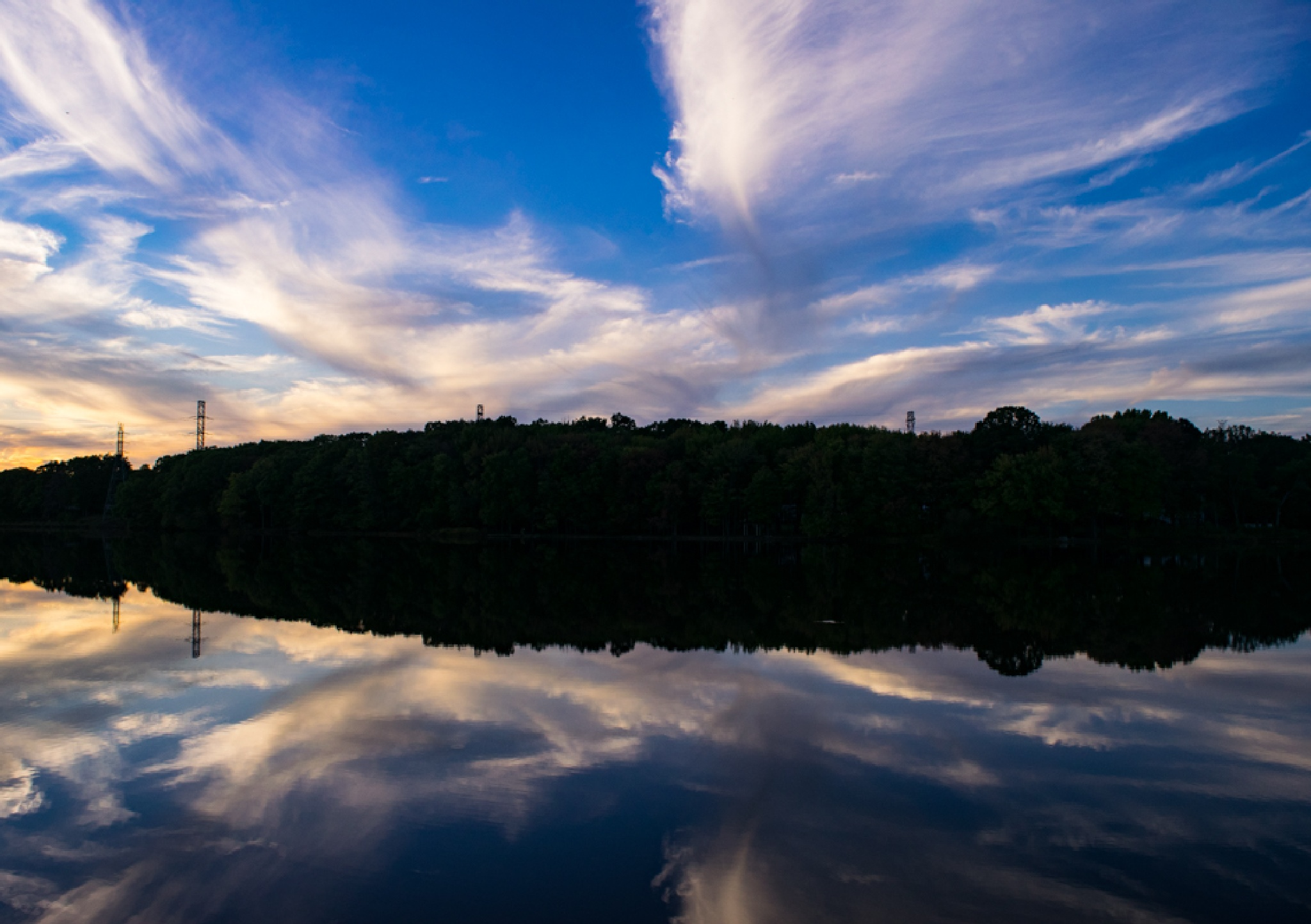 Blue Reflection by Steven Hughes