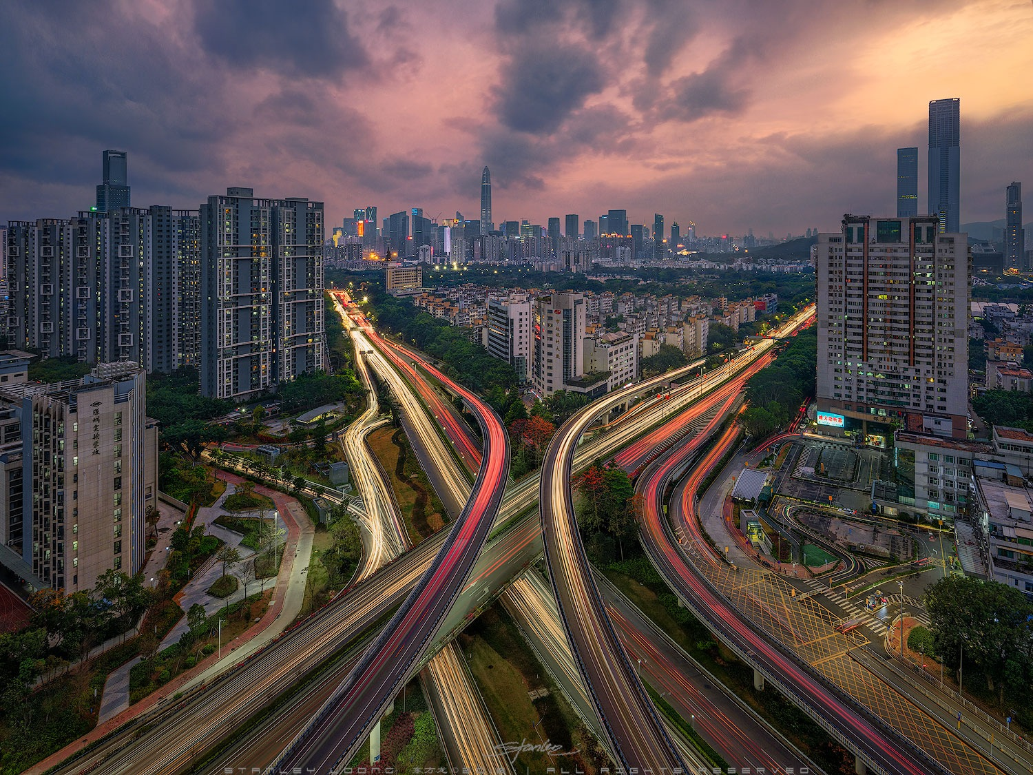 S h e n z h e n by Stanley Loong