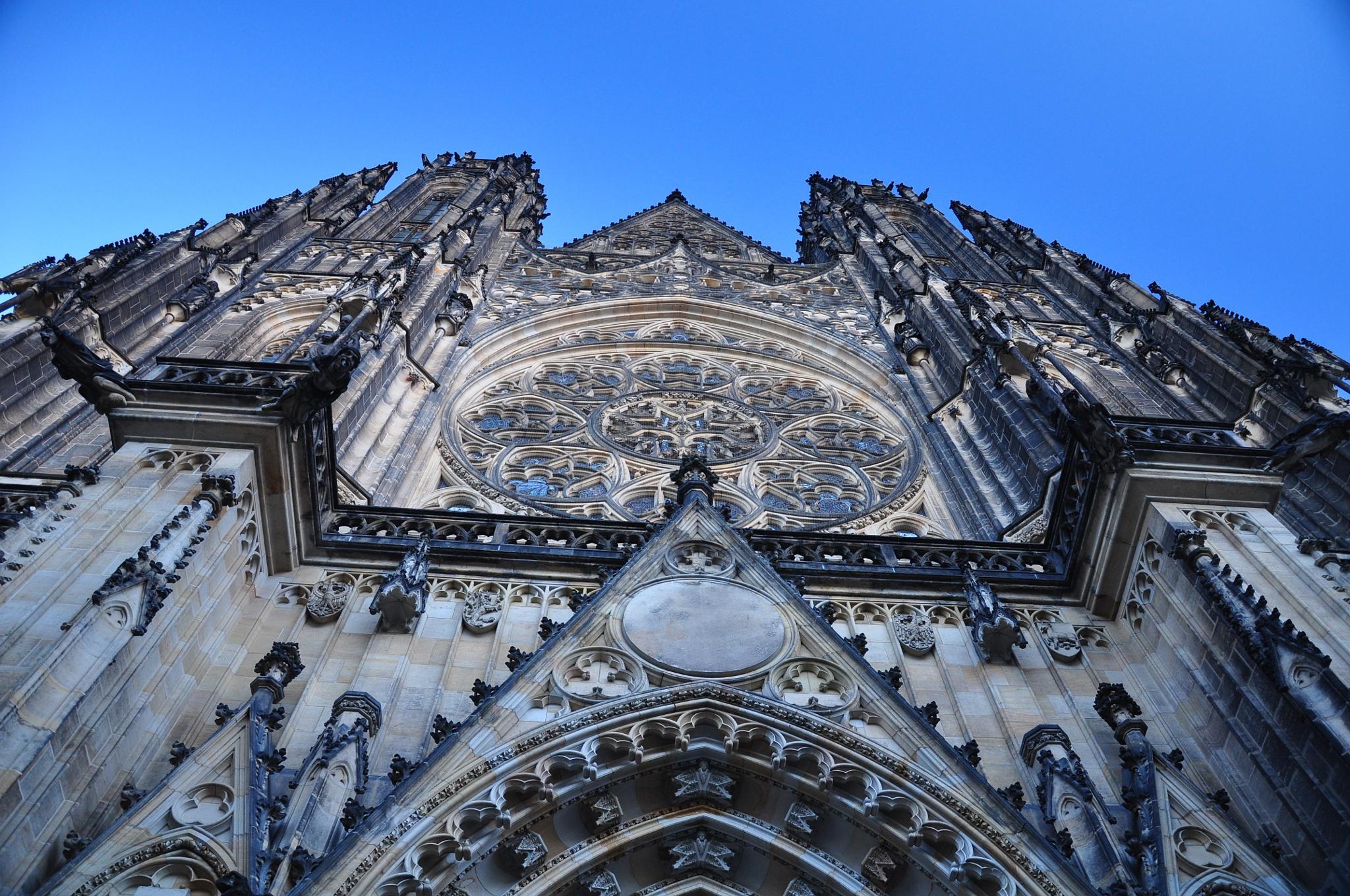 Cathedral in Prague by Matt Chlodnicki