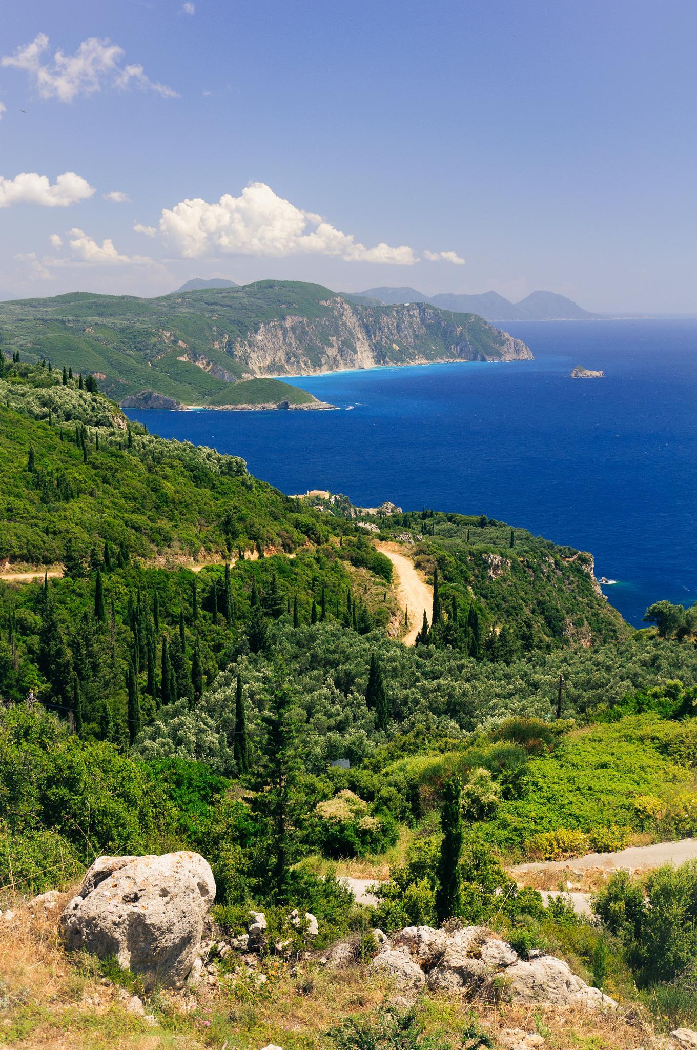 Corfu, Greece by Matt Chlodnicki