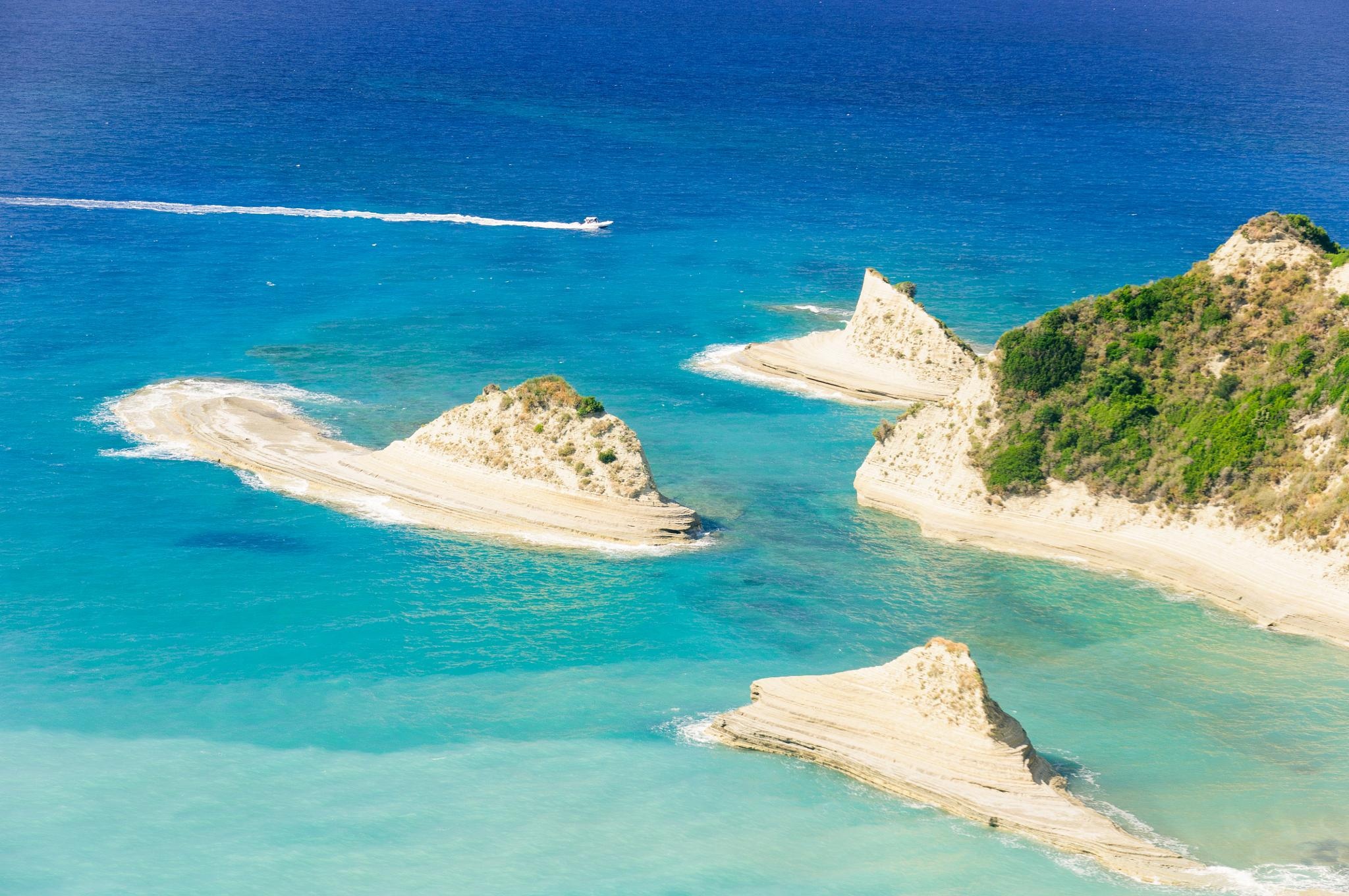 Corfu Island, Cape Drastis by Matt Chlodnicki